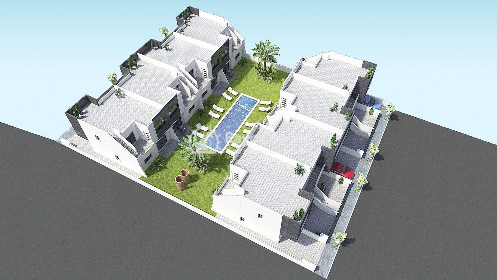 Penthouse  in San Pedro del Pinatar, Costa Cálida (SPEGUFB2-2P) - 2