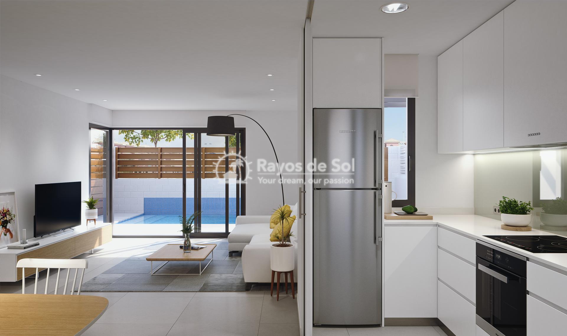 Modern single-storey design villas  in Los Alcazares, Costa Cálida (LAUCLV3-2) - 4