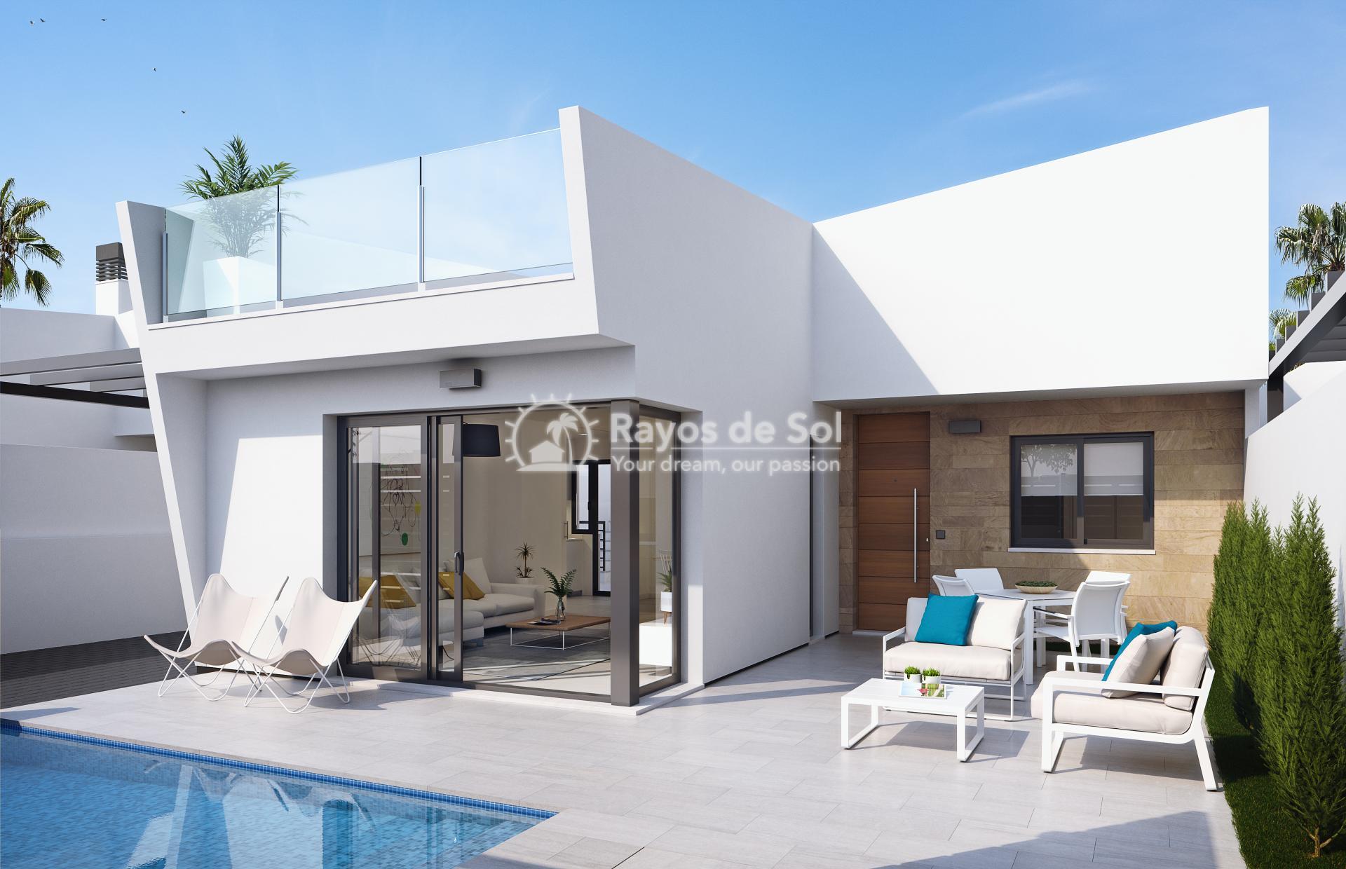 Modern single-storey design villas  in Los Alcazares, Costa Cálida (LAUCLV3-2) - 1