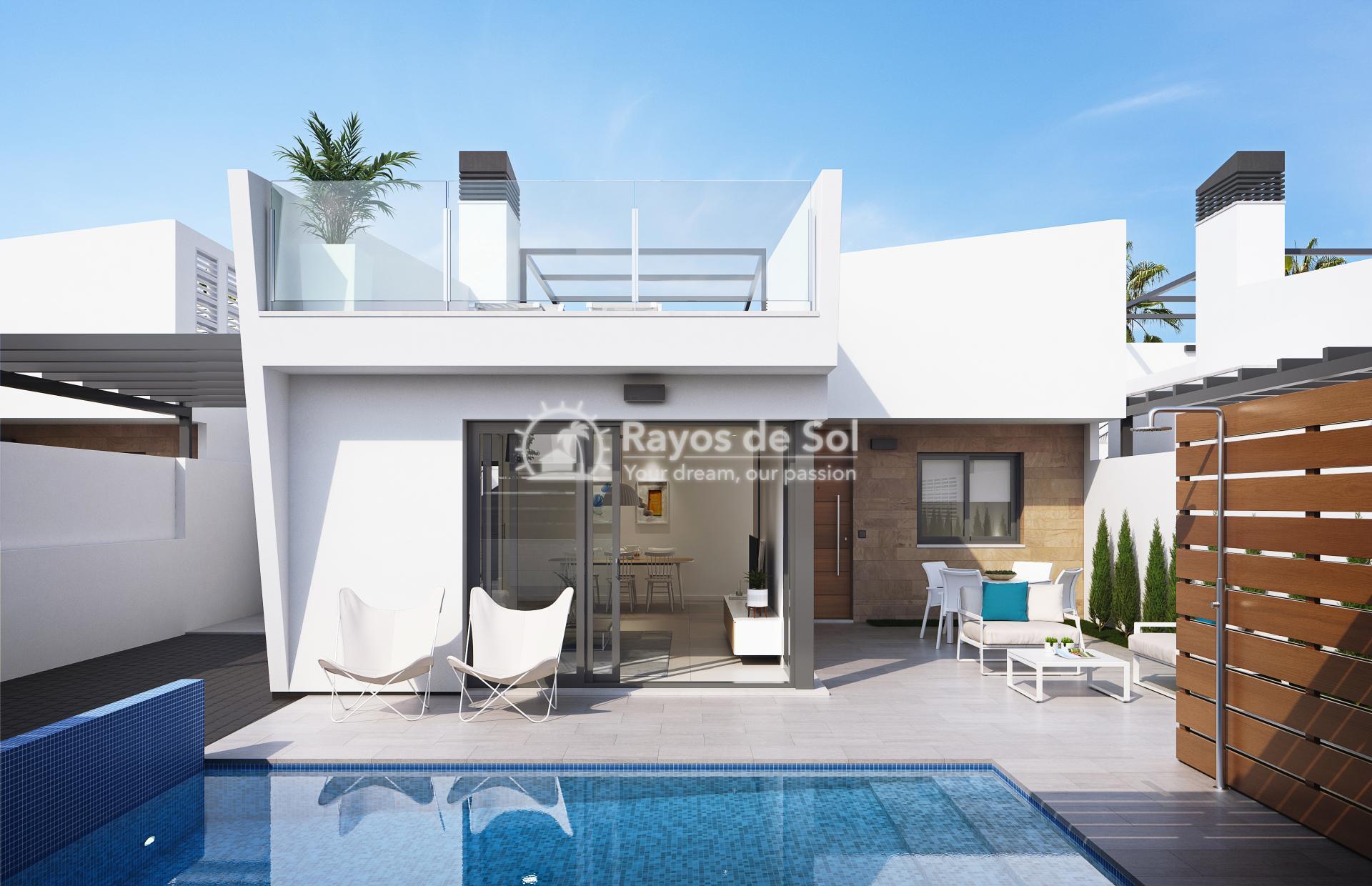 Modern single-storey design villas  in Los Alcazares, Costa Cálida (LAUCLV3-2) - 2