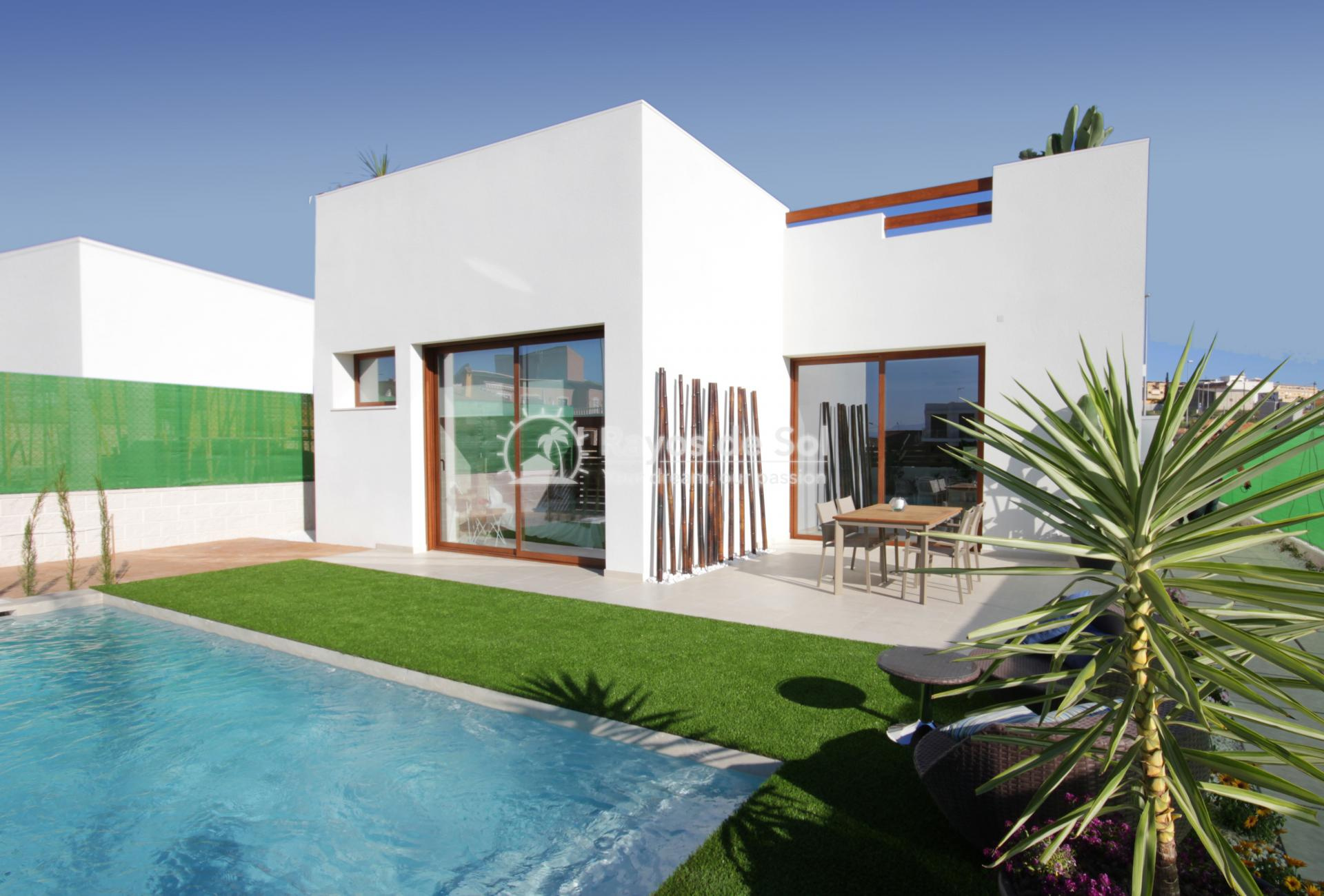 Single-storey detached villas  in Benijofar, Costa Blanca (Veleta) - 3