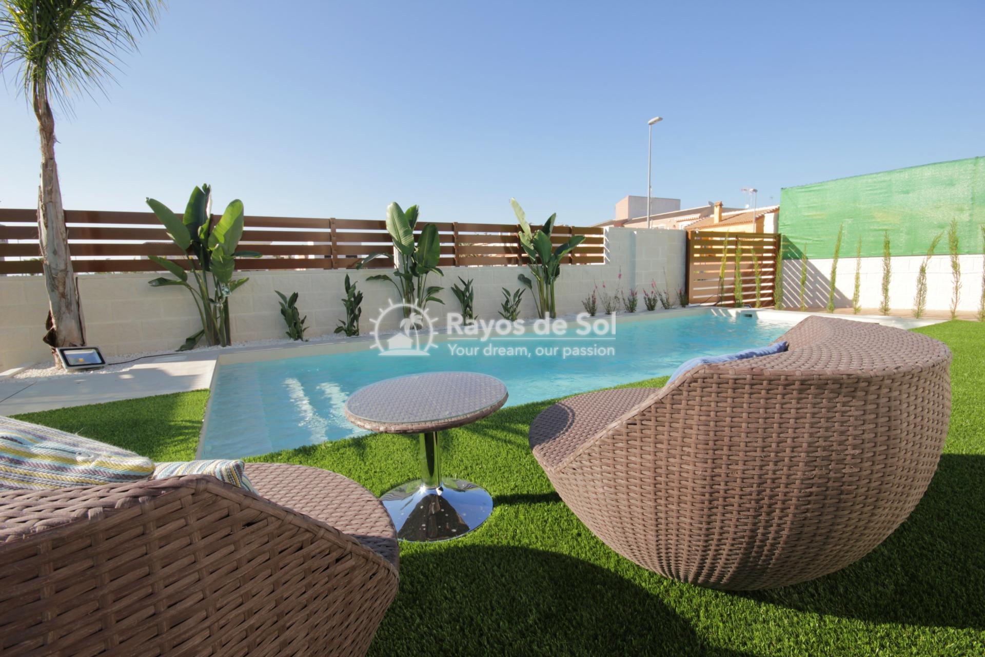 Single-storey detached villas  in Benijofar, Costa Blanca (Veleta) - 4