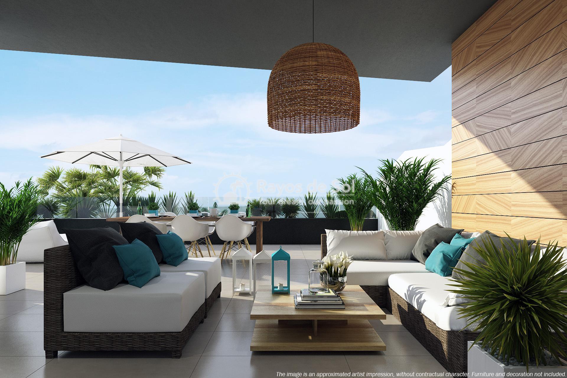 Beautiful penthouse  in Villamartin, Costa Blanca (VITRMU3-2P) - 1