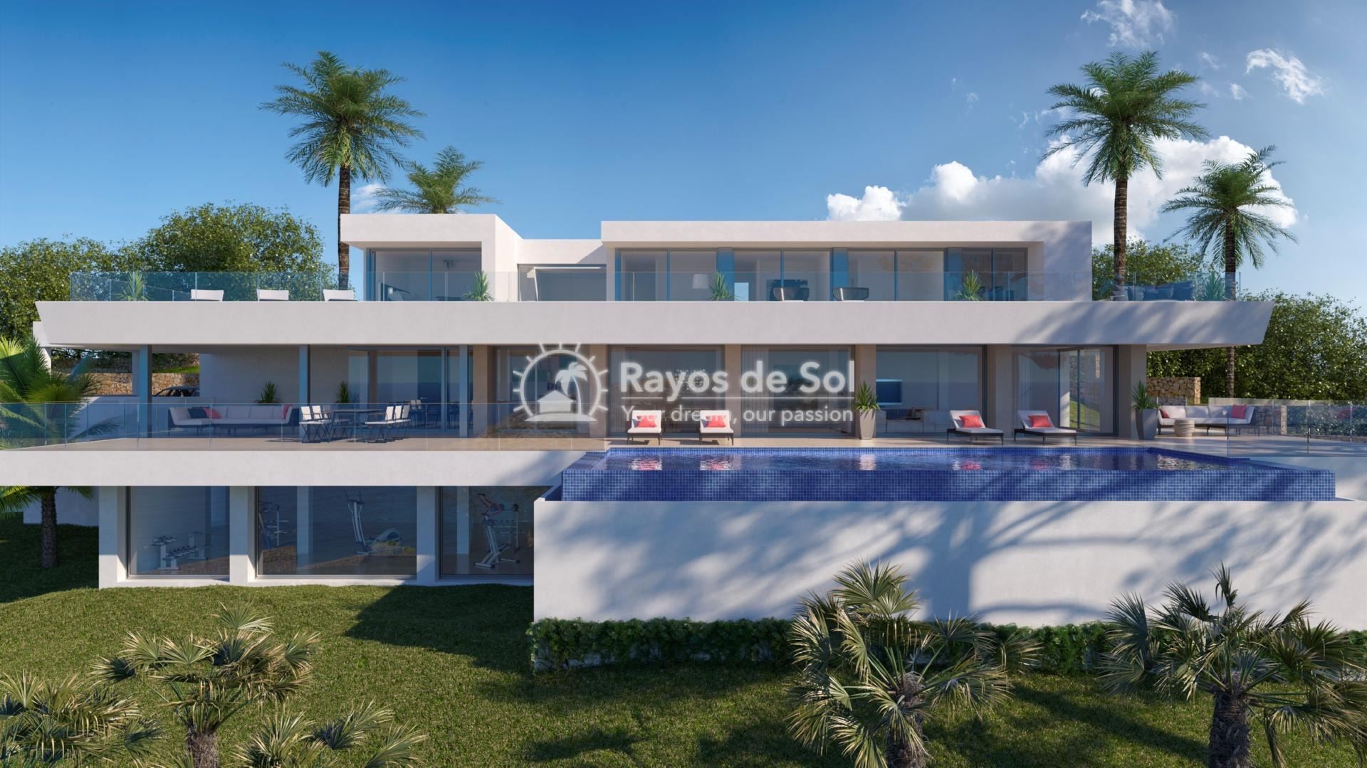 Villa in cumbre del sol benitachell costa blanca rayos for Villas del sol