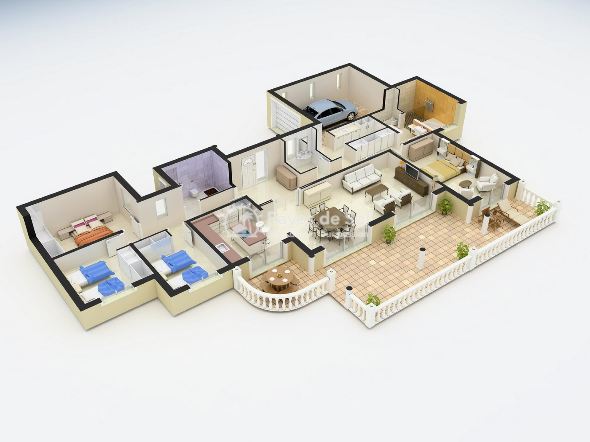 Villa in Cumbre del Sol, Benitachell, Costa Blanca (BEVALIVDA) - 10