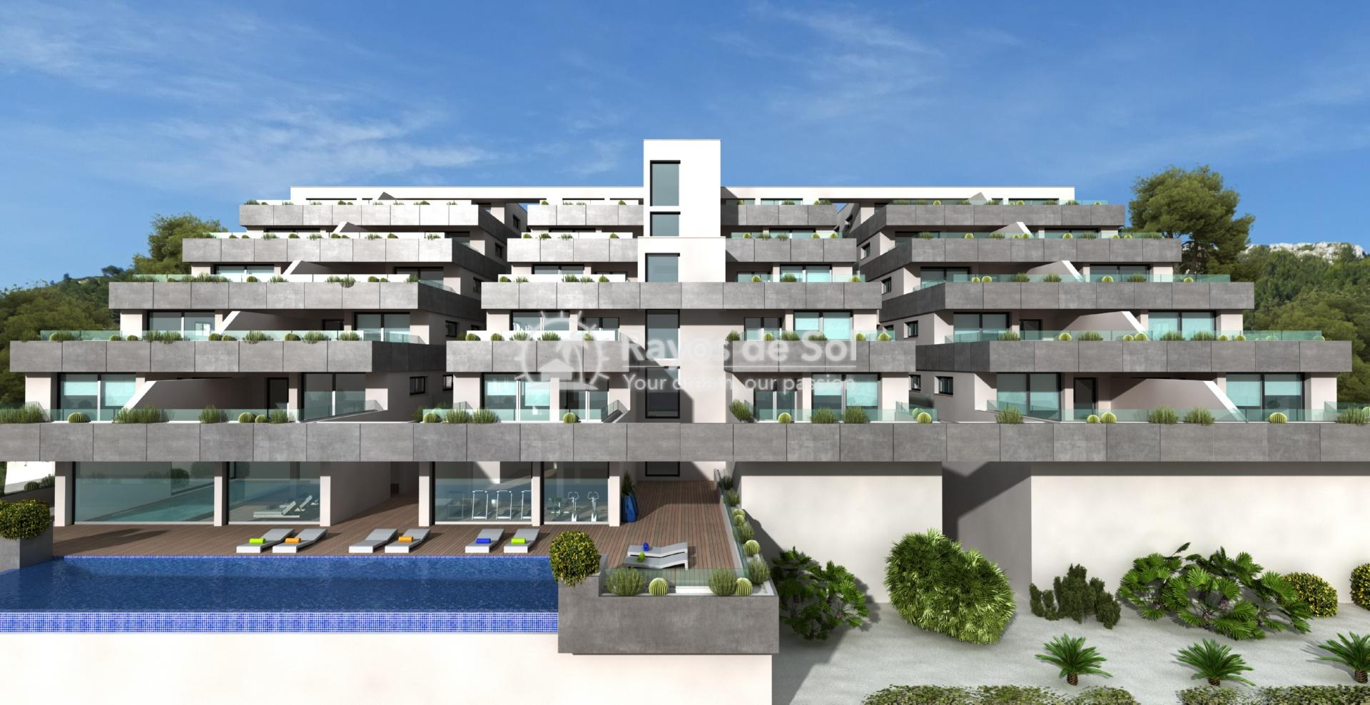 Exclusive apartment in Cumbre del Sol, Benitachell, Costa Blanca (BEVABI2-2) - 1