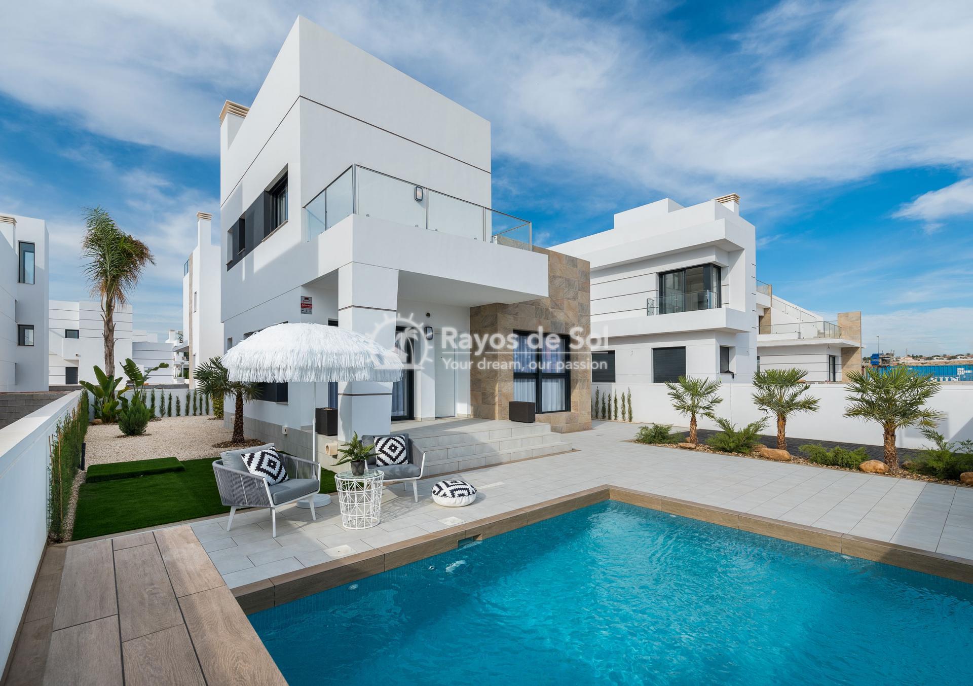 Modern villa  in Doña Pepa, Ciudad Quesada, Costa Blanca (Ateka-Jade) - 2