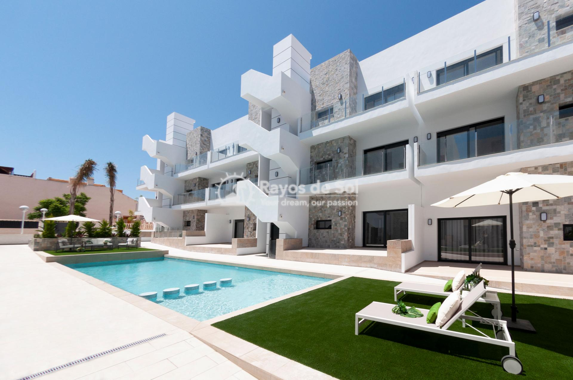 Apartment  in Arenales del Sol, Santa Pola, Costa Blanca (Beach-Avenue-BG2) - 1
