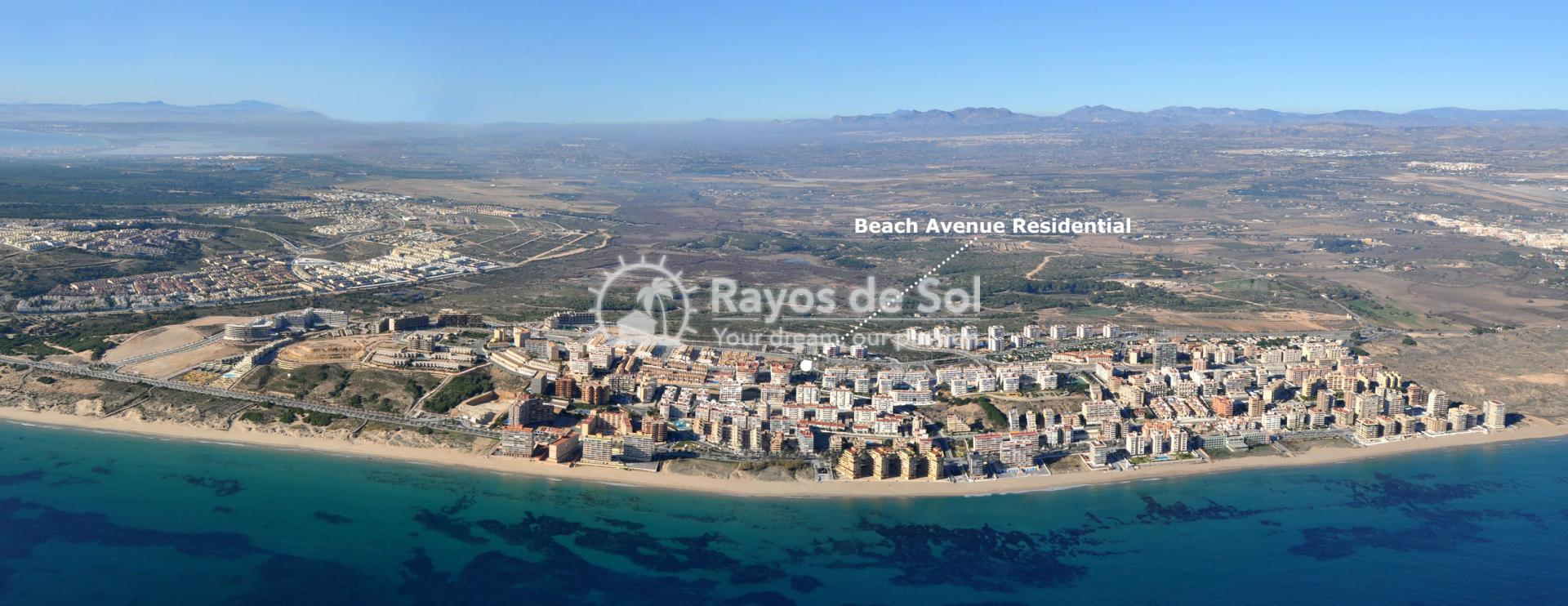 Apartment  in Arenales del Sol, Santa Pola, Costa Blanca (Beach-Avenue-BG2) - 10