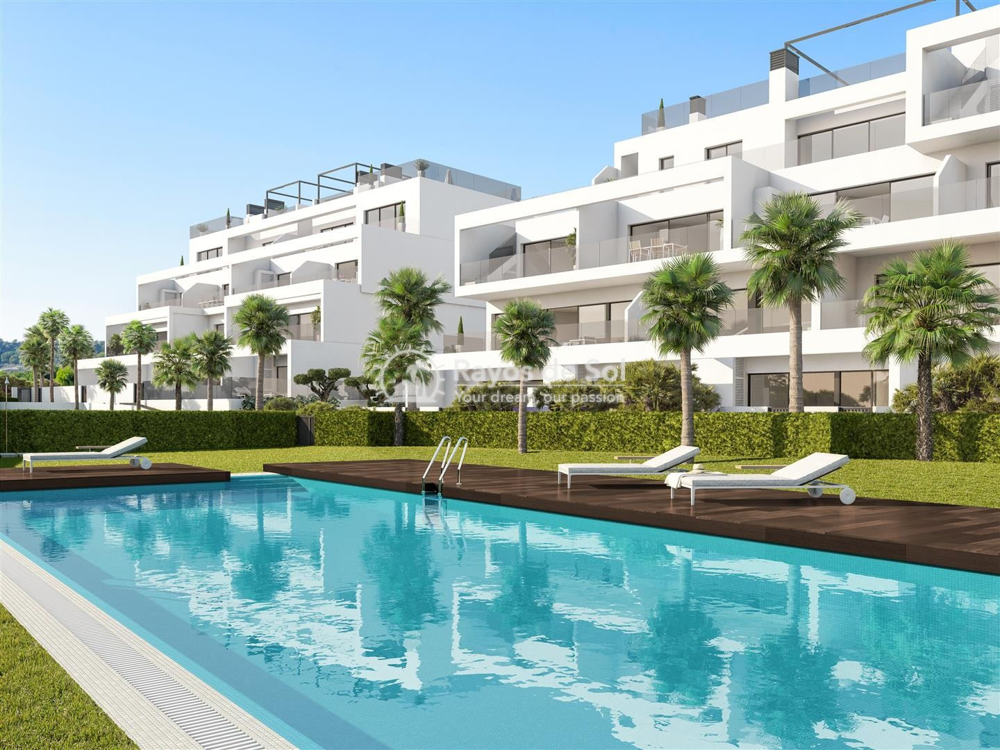 Ground floor apartment  in Las Colinas, Orihuela Costa, Costa Blanca (Hinojo-gf3d) - 2