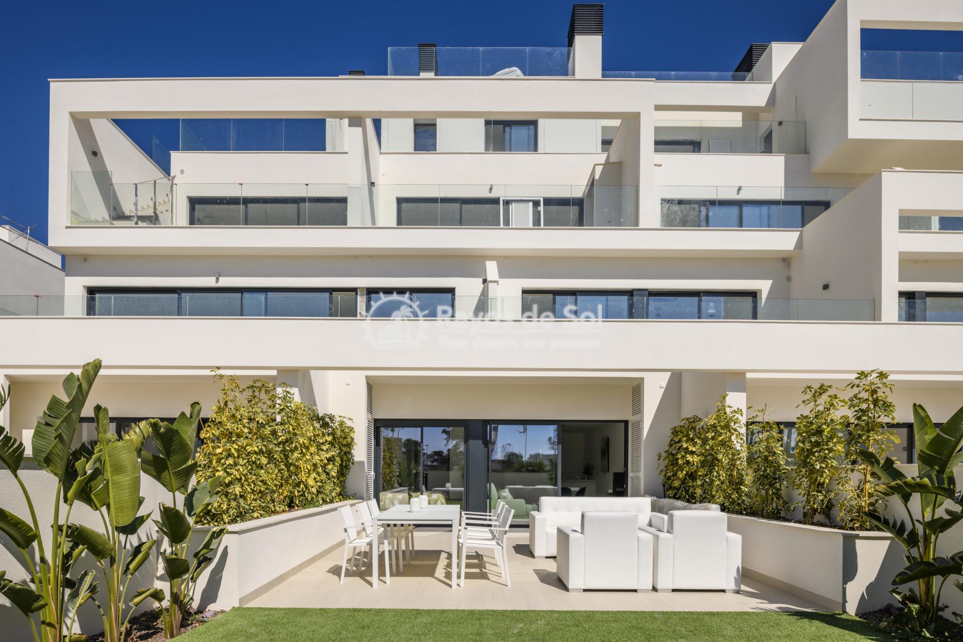 Ground floor apartment  in Las Colinas, Orihuela Costa, Costa Blanca (Hinojo-gf3d) - 1