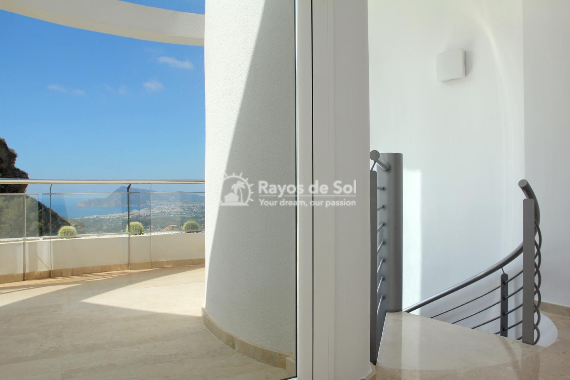 Villa with great views  in Altea, Costa Blanca (ALVABLI) - 13