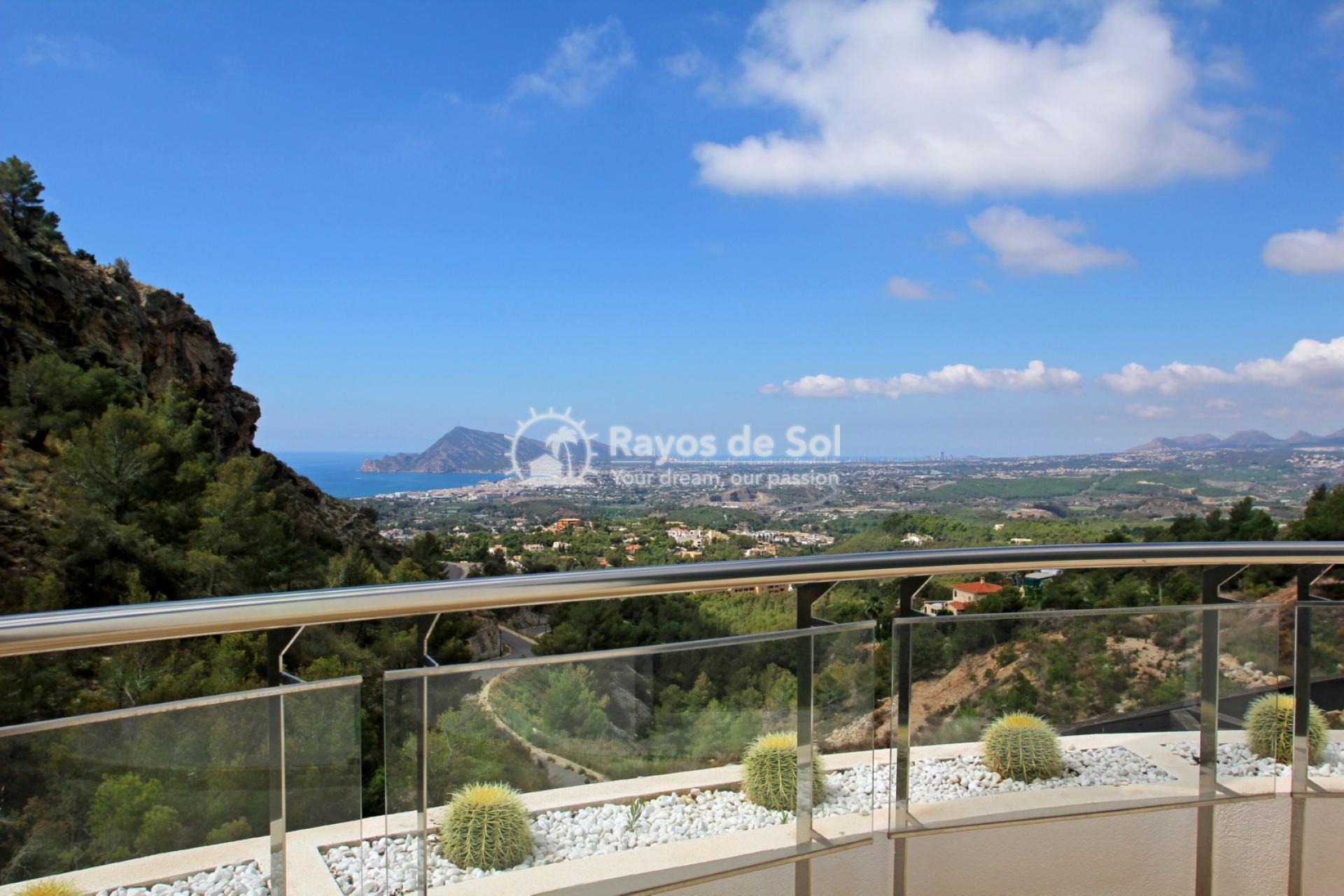Villa with great views  in Altea, Costa Blanca (ALVABLI) - 14