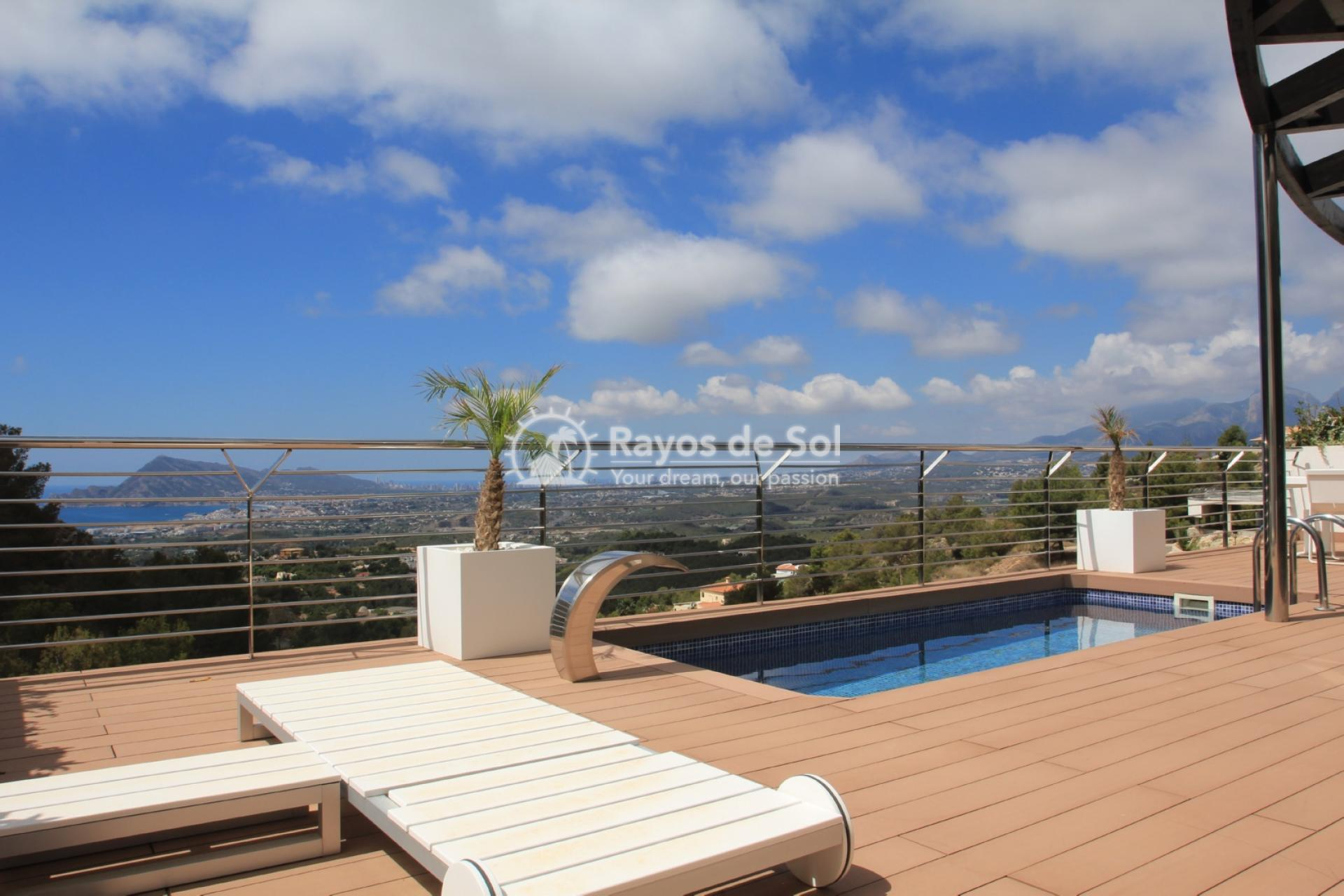 Villa with great views  in Altea, Costa Blanca (ALVABLI) - 6