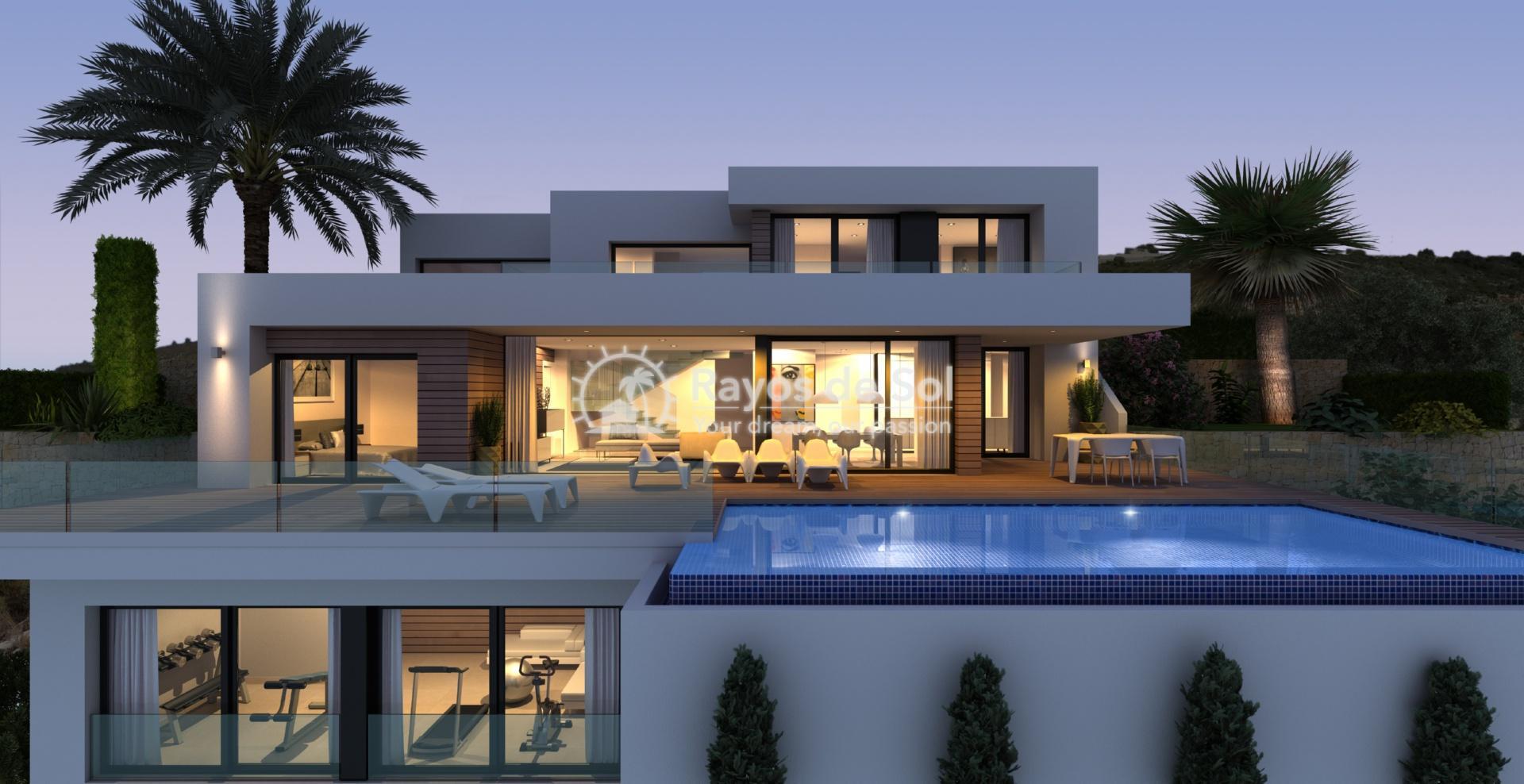 Villa with seaviews in Cumbre del Sol, Benitachell, Costa Blanca (BEVAJABA) - 3