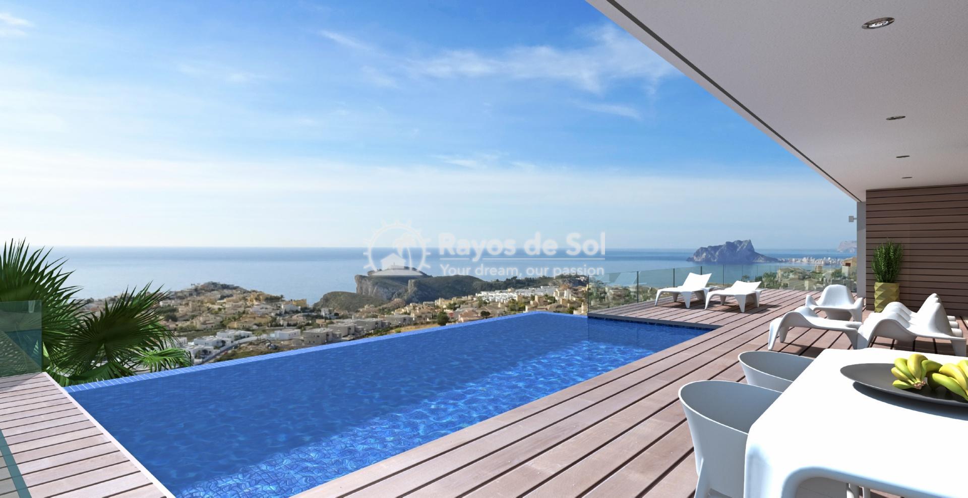 Villa with seaviews in Cumbre del Sol, Benitachell, Costa Blanca (BEVAJABA) - 5
