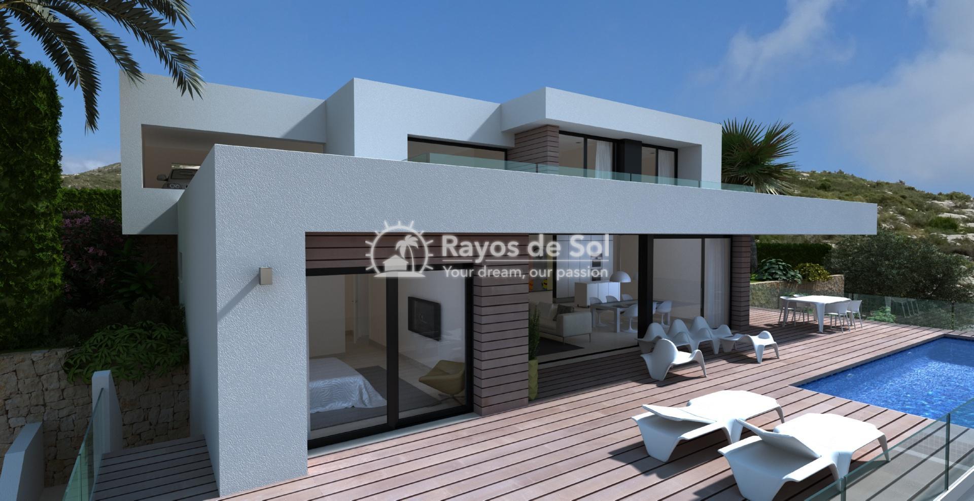 Villa with seaviews in Cumbre del Sol, Benitachell, Costa Blanca (BEVAJABA) - 4