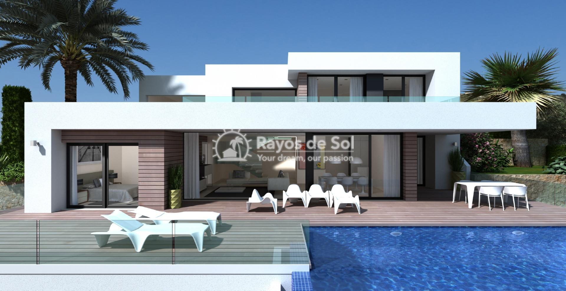 Villa with seaviews in Cumbre del Sol, Benitachell, Costa Blanca (BEVAJABA) - 2