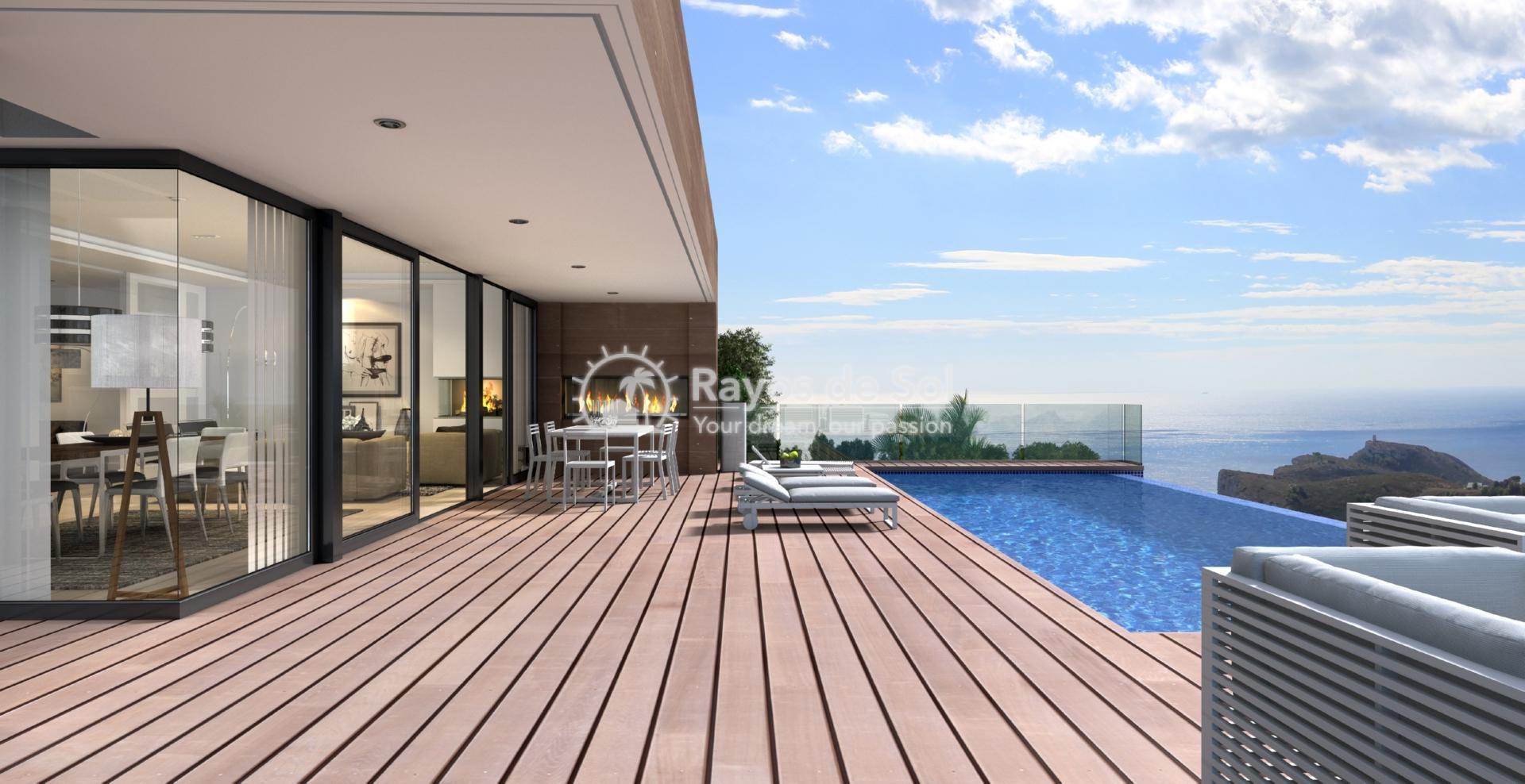 Stunning villa in Cumbre del Sol, Benitachell, Costa Blanca (BEVAJADP) - 5