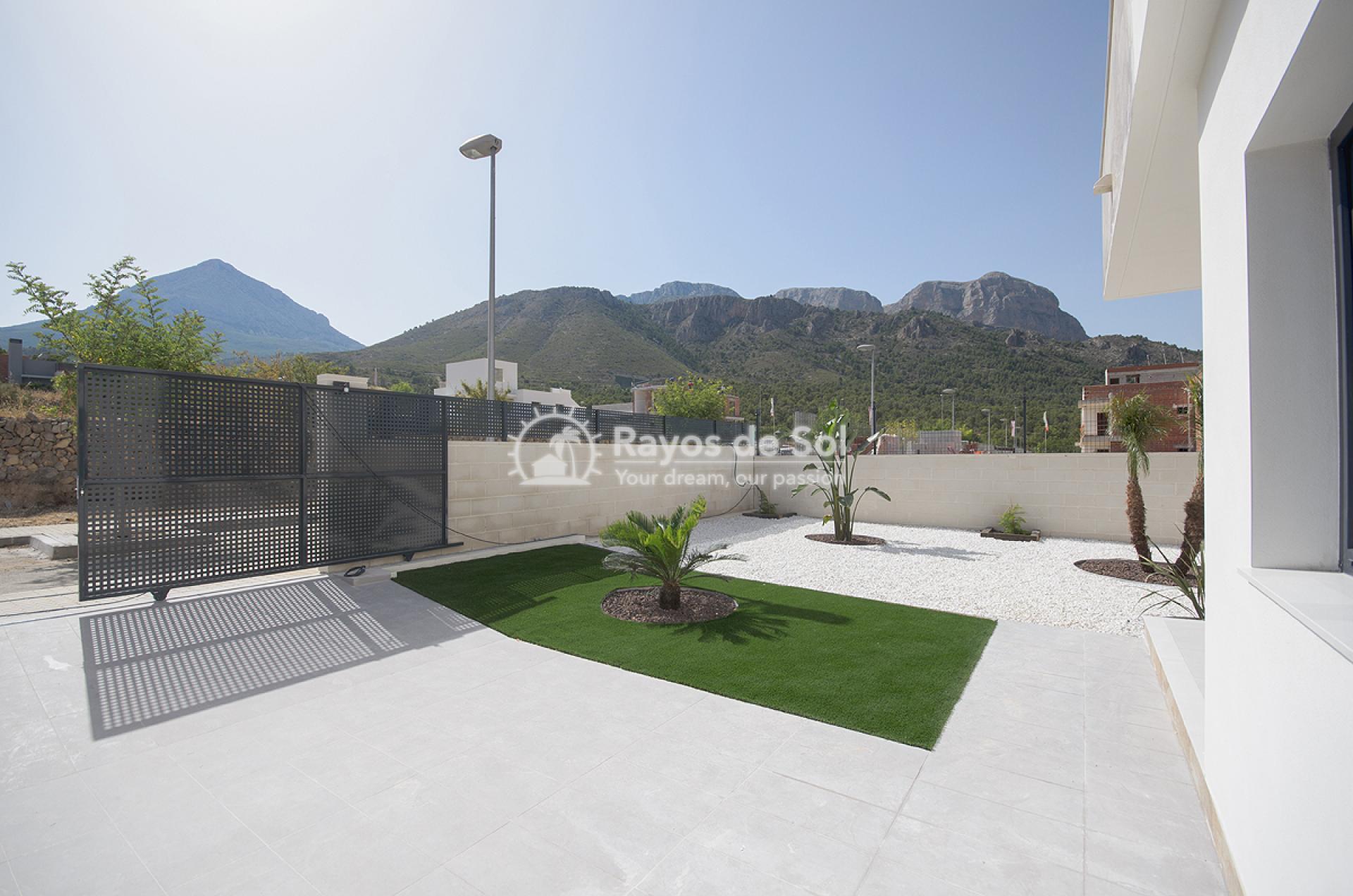 Ground floor apartment  in Polop, Costa Blanca (POSUDB2-2B) - 1