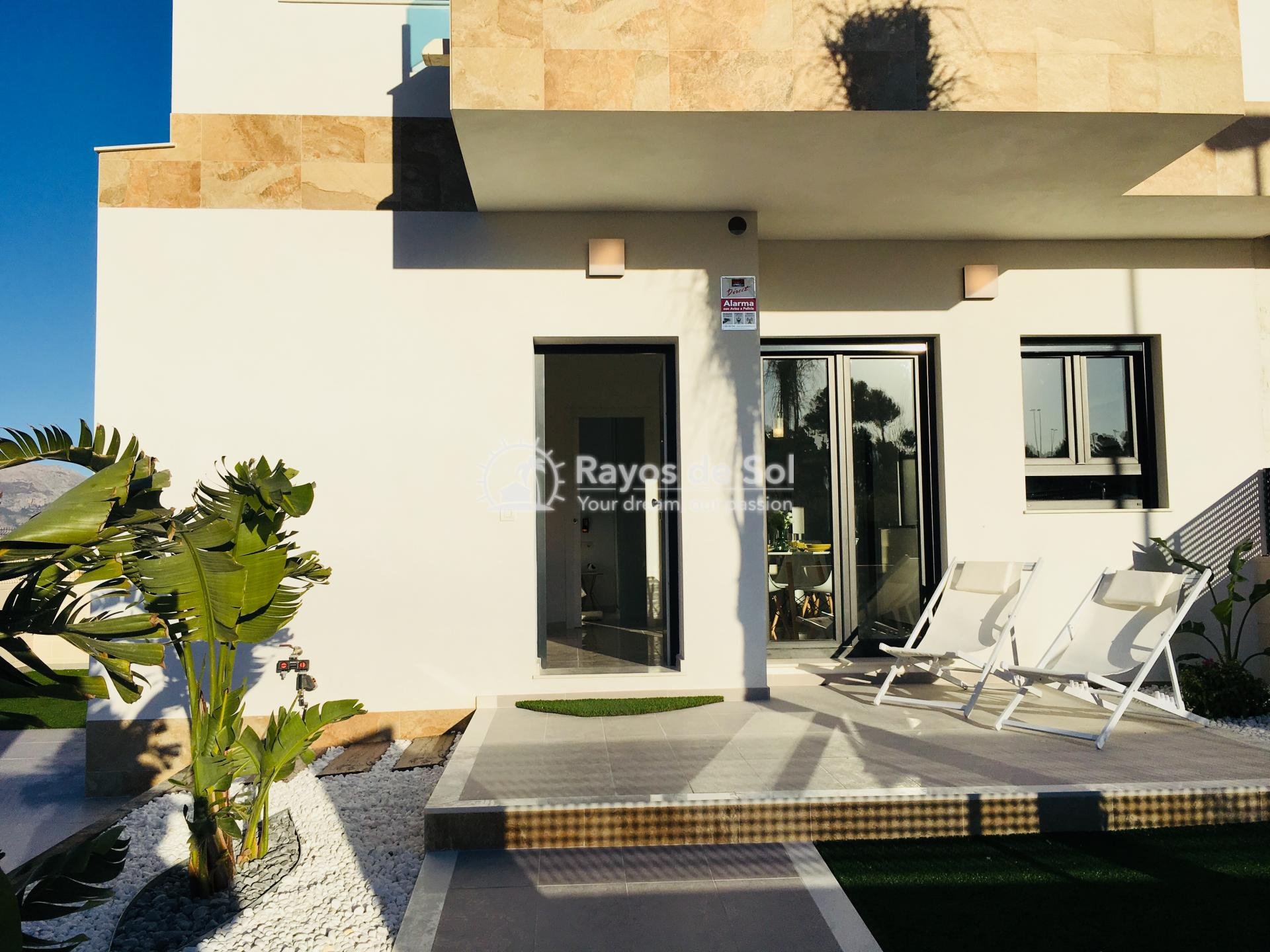 Quartervilla  in Polop, Costa Blanca (POSUDB3-3V) - 2