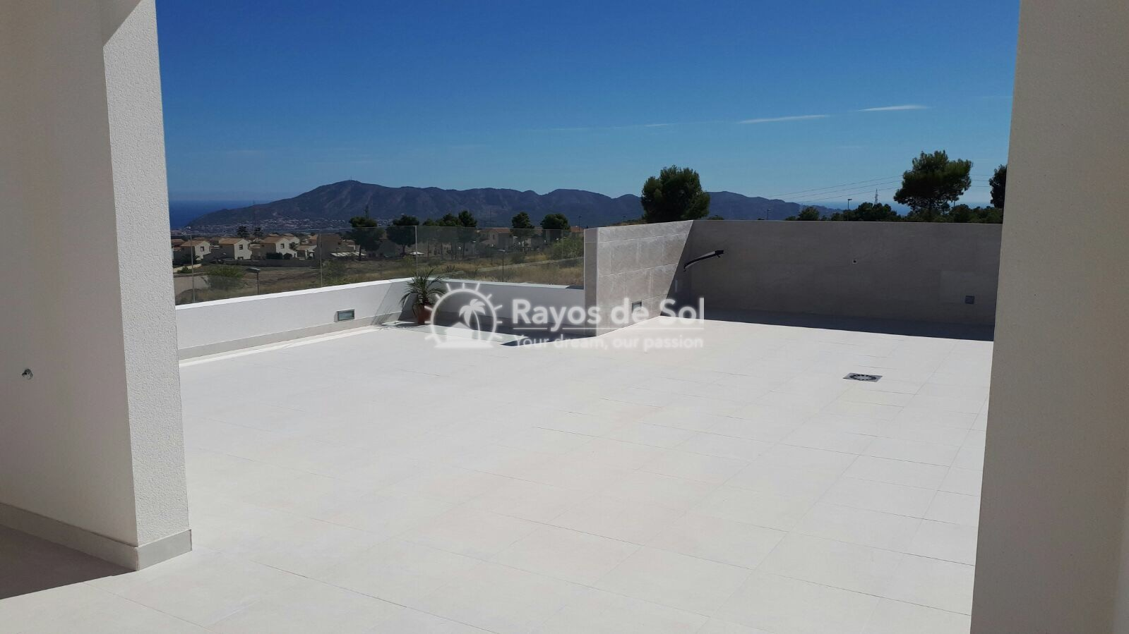Semidetached single storey villa  in Polop, Costa Blanca (POWOBV) - 14