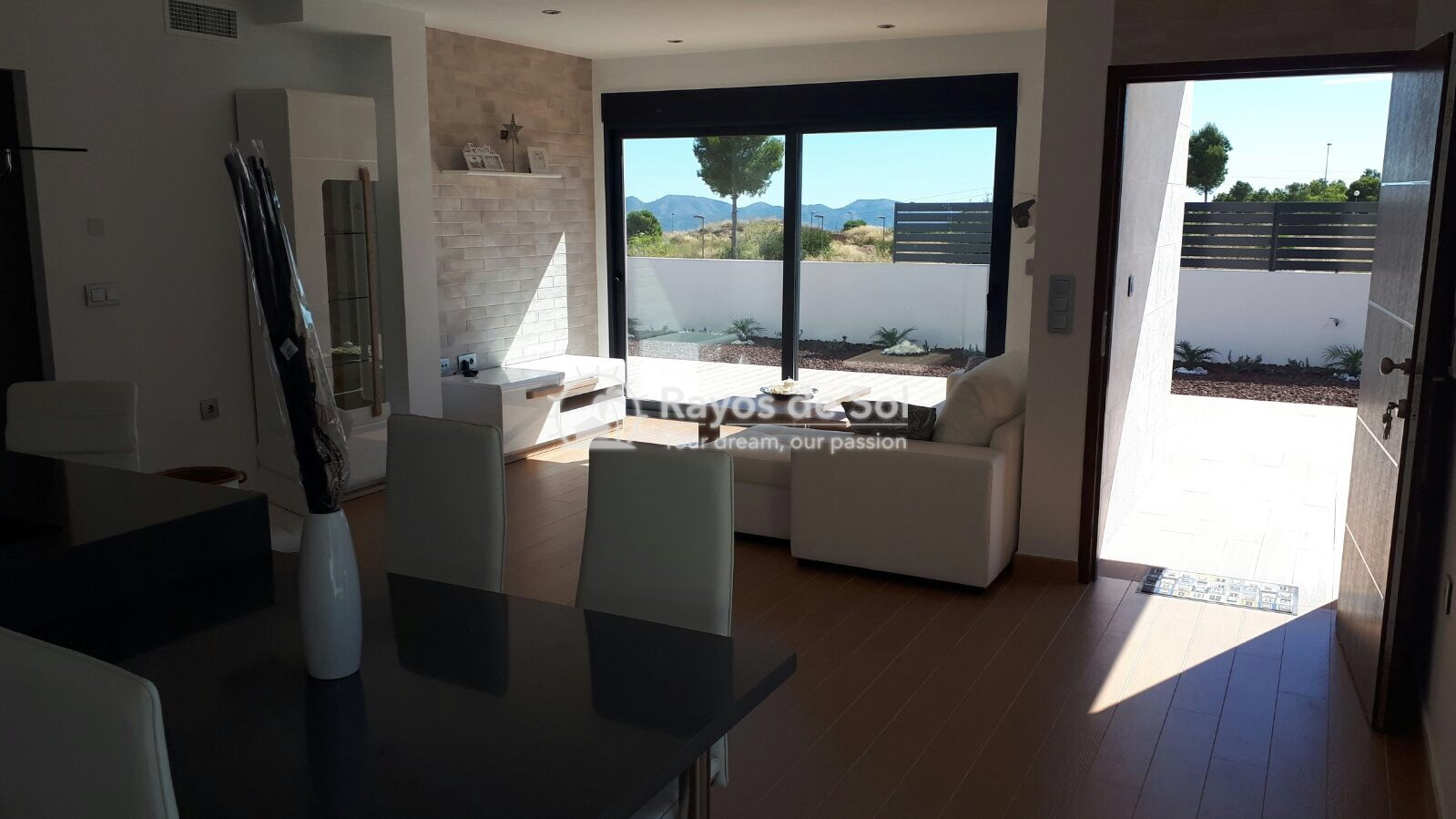 Semidetached single storey villa  in Polop, Costa Blanca (POWOBV) - 8
