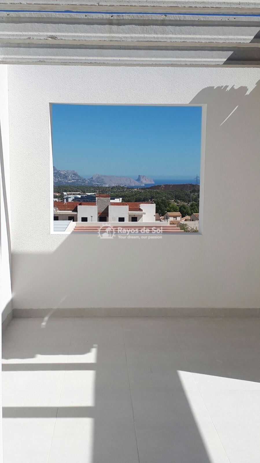 Semidetached single storey villa  in Polop, Costa Blanca (POWOBV) - 16