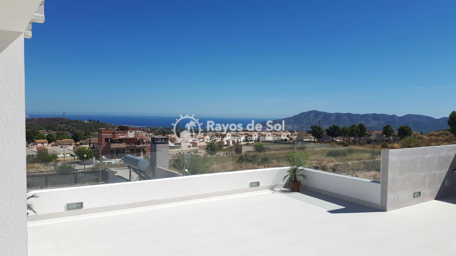 Semidetached single storey villa  in Polop, Costa Blanca (POWOBV) - 17