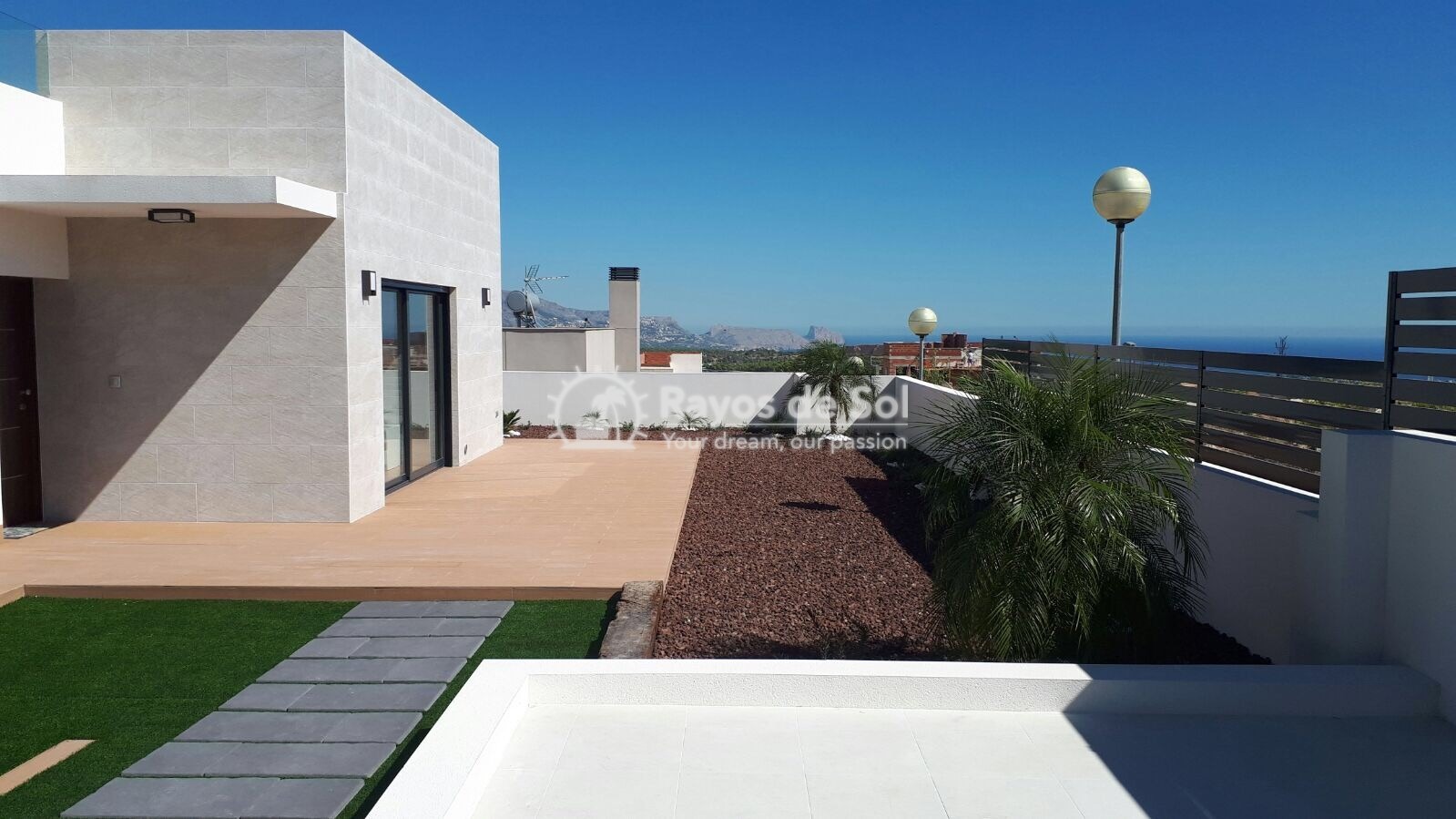 Semidetached single storey villa  in Polop, Costa Blanca (POWOBV) - 5
