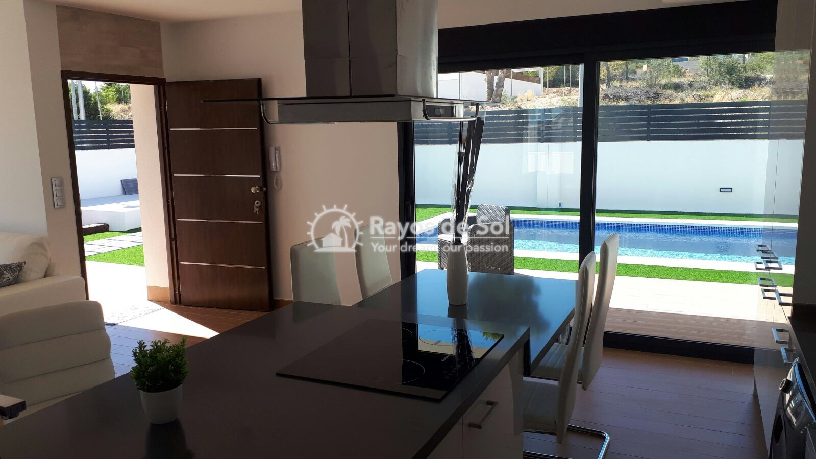 Semidetached single storey villa  in Polop, Costa Blanca (POWOBV) - 9