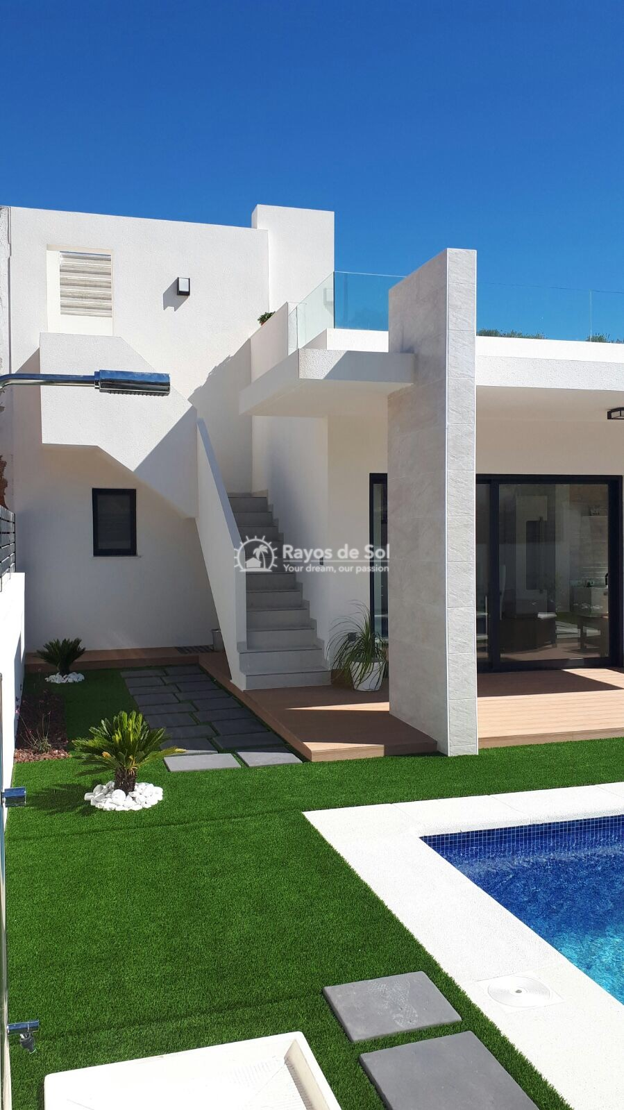 Semidetached single storey villa  in Polop, Costa Blanca (POWOBV) - 2