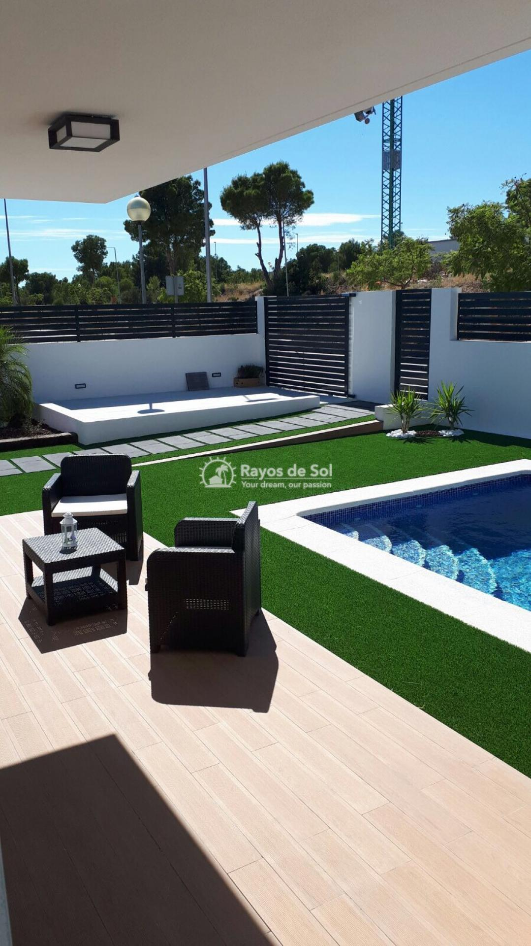 Semidetached single storey villa  in Polop, Costa Blanca (POWOBV) - 3