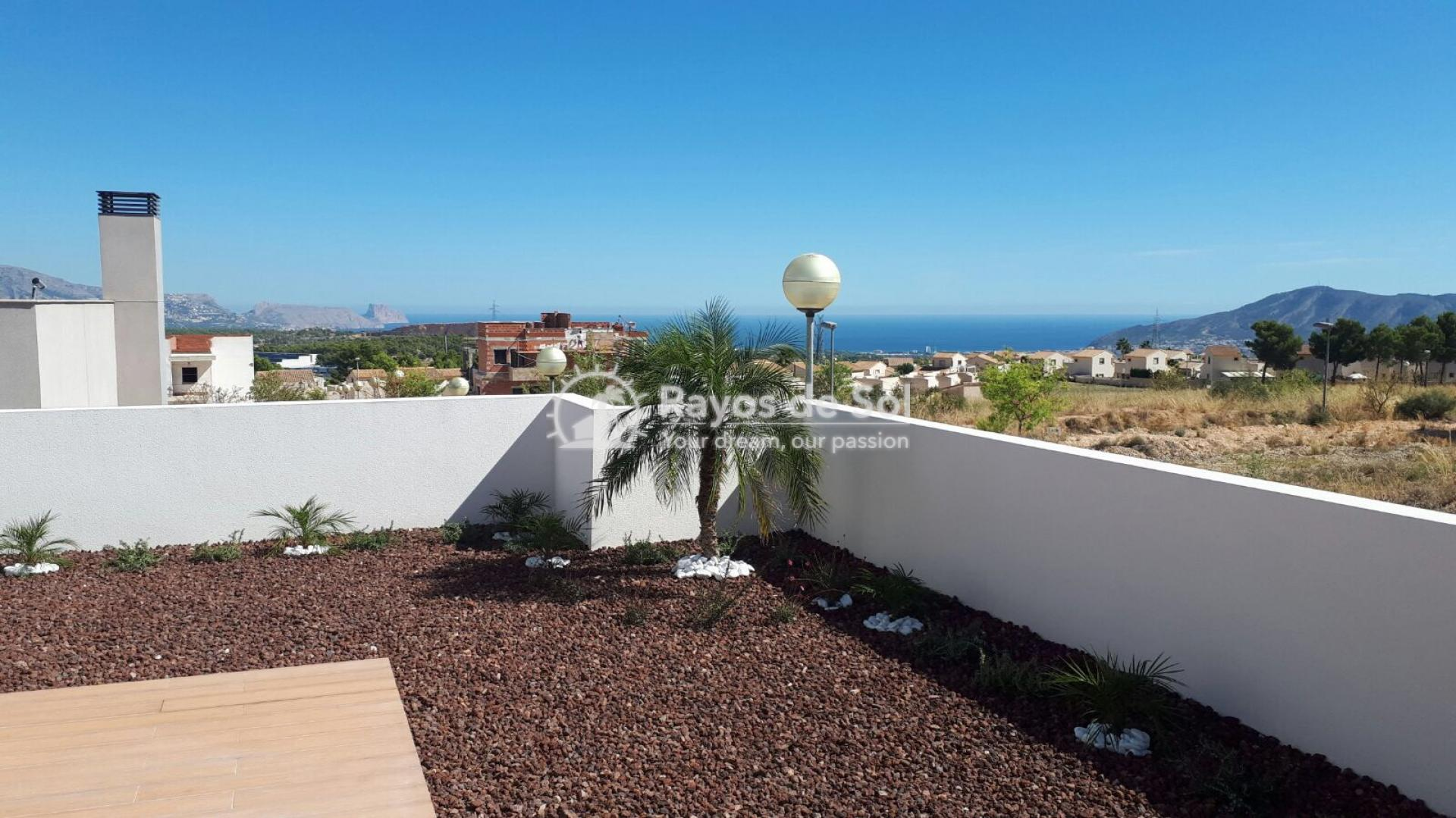 Semidetached single storey villa  in Polop, Costa Blanca (POWOBV) - 18