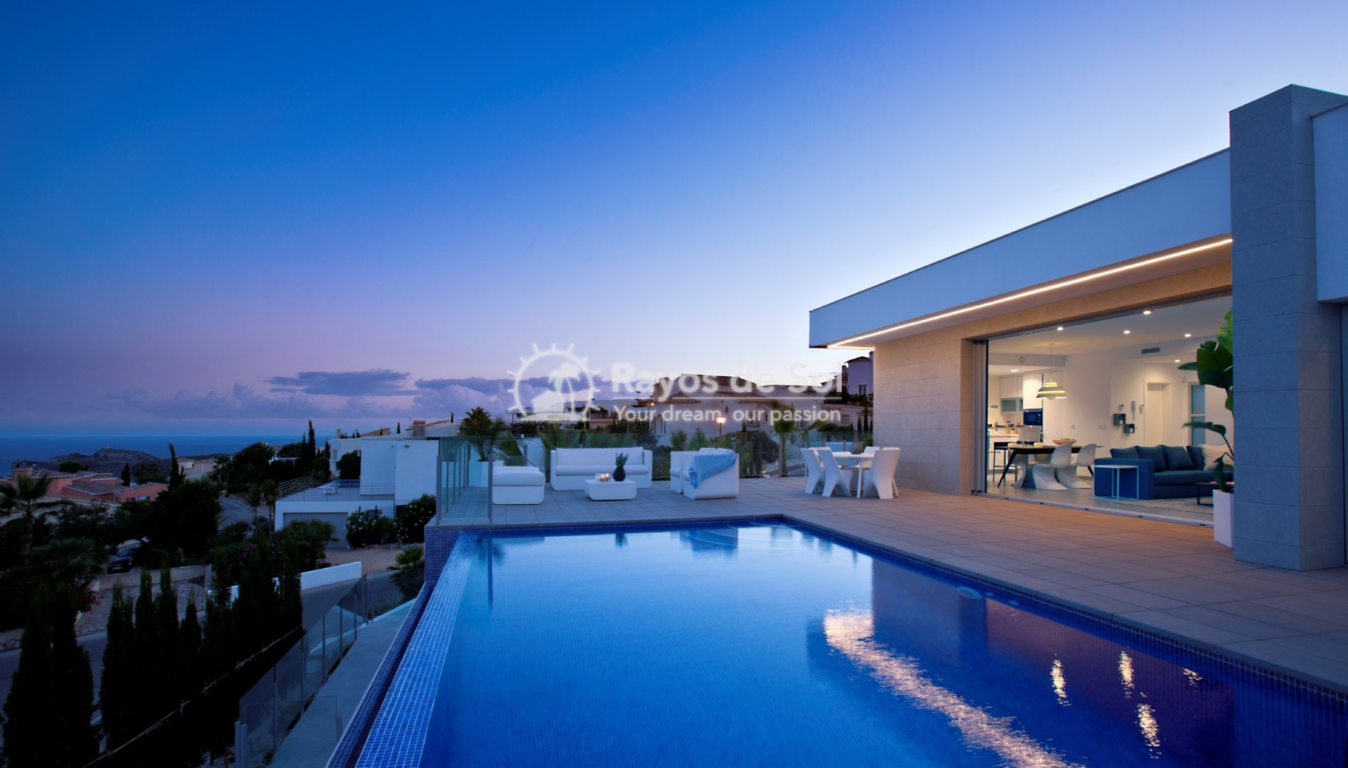 Villa with fantastic views in Cumbre del Sol, Benitachell, Costa Blanca (BEVALIDSIXL) - 1