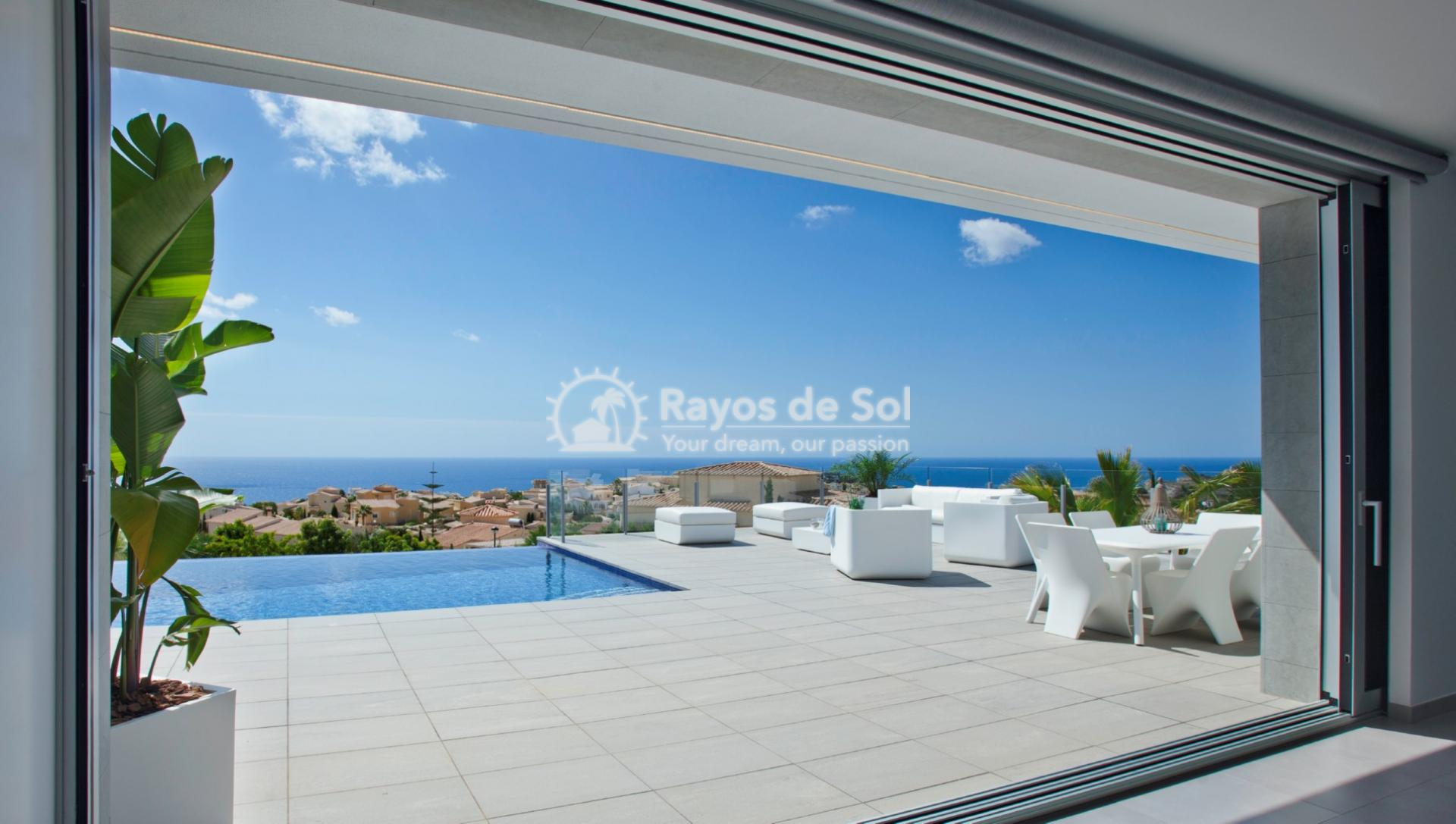 Villa with fantastic views in Cumbre del Sol, Benitachell, Costa Blanca (BEVALIDSIXL) - 9