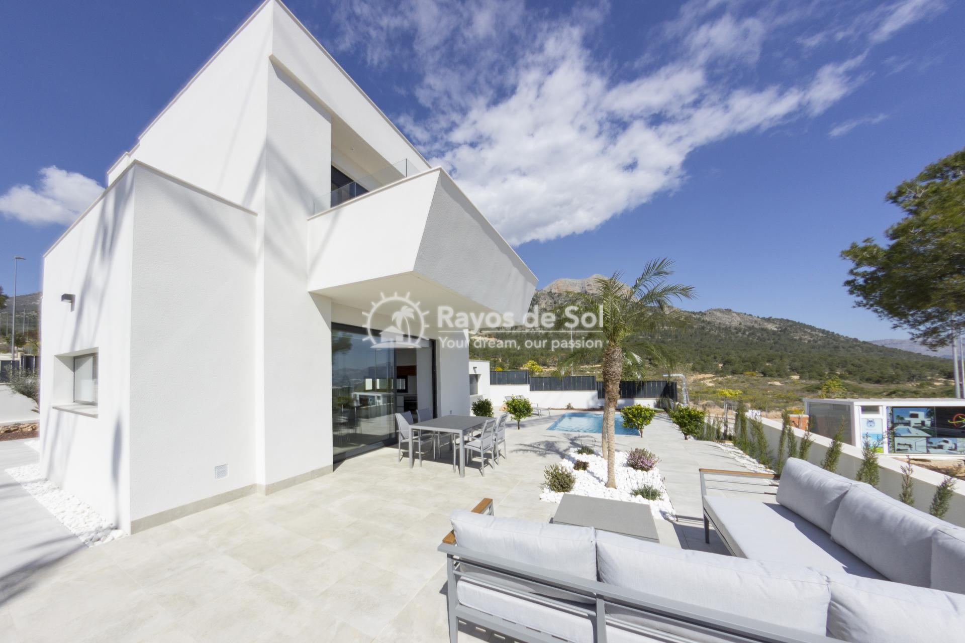 Detached villa  in Polop, Costa Blanca (POWOEN) - 1