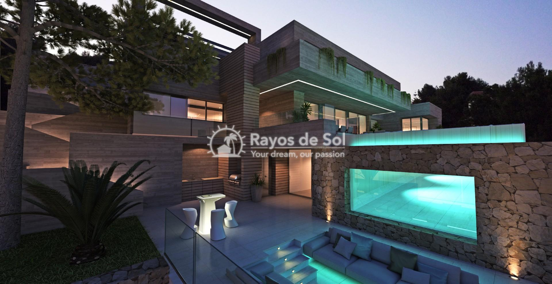 Villa with fantastic views  in Benissa, Costa Blanca (BEVABERA) - 5