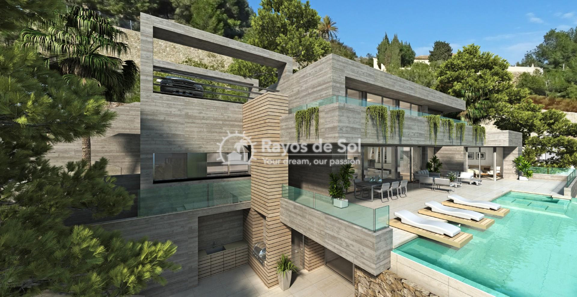 Villa with fantastic views  in Benissa, Costa Blanca (BEVABERA) - 2