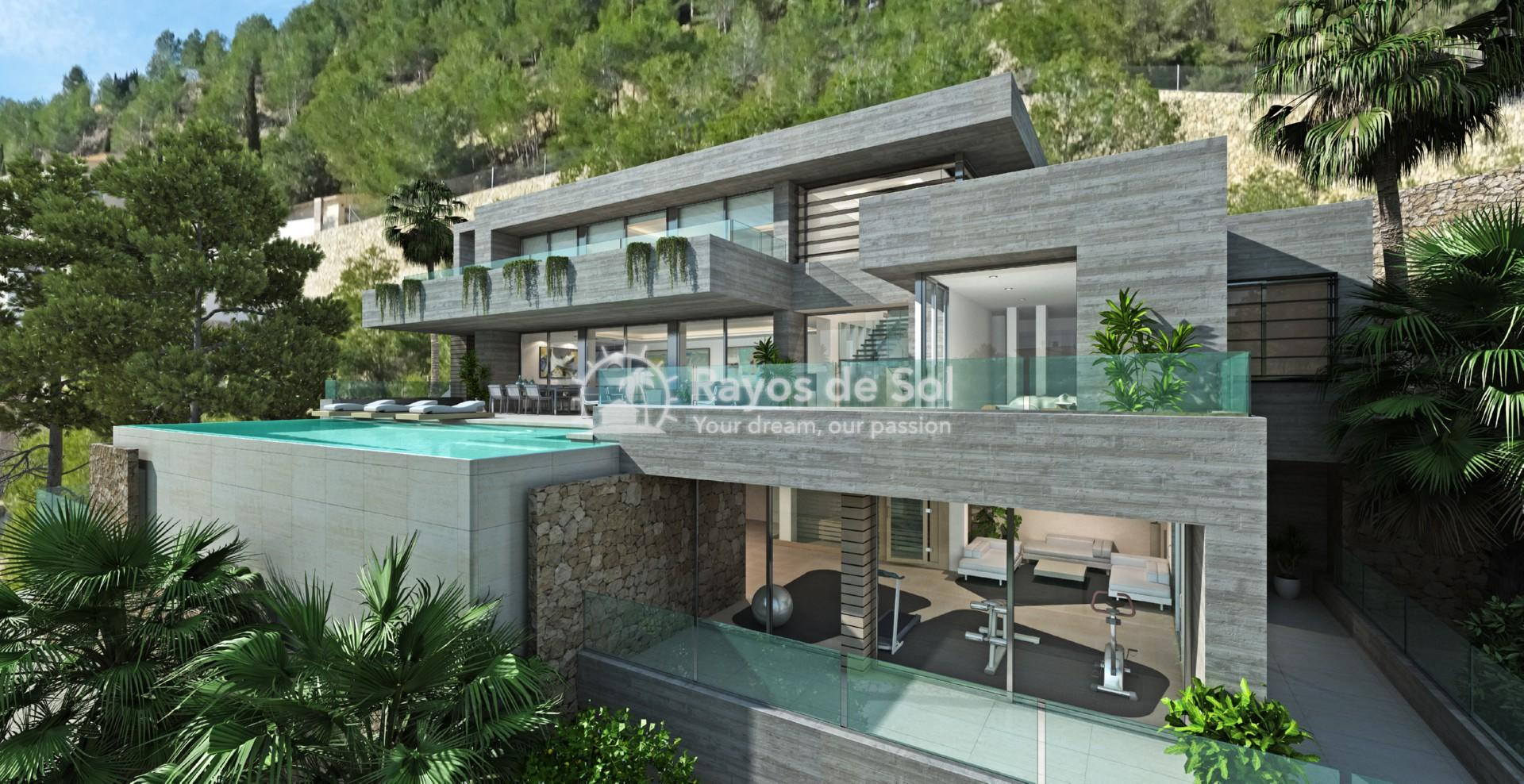 Villa with fantastic views  in Benissa, Costa Blanca (BEVABERA) - 3
