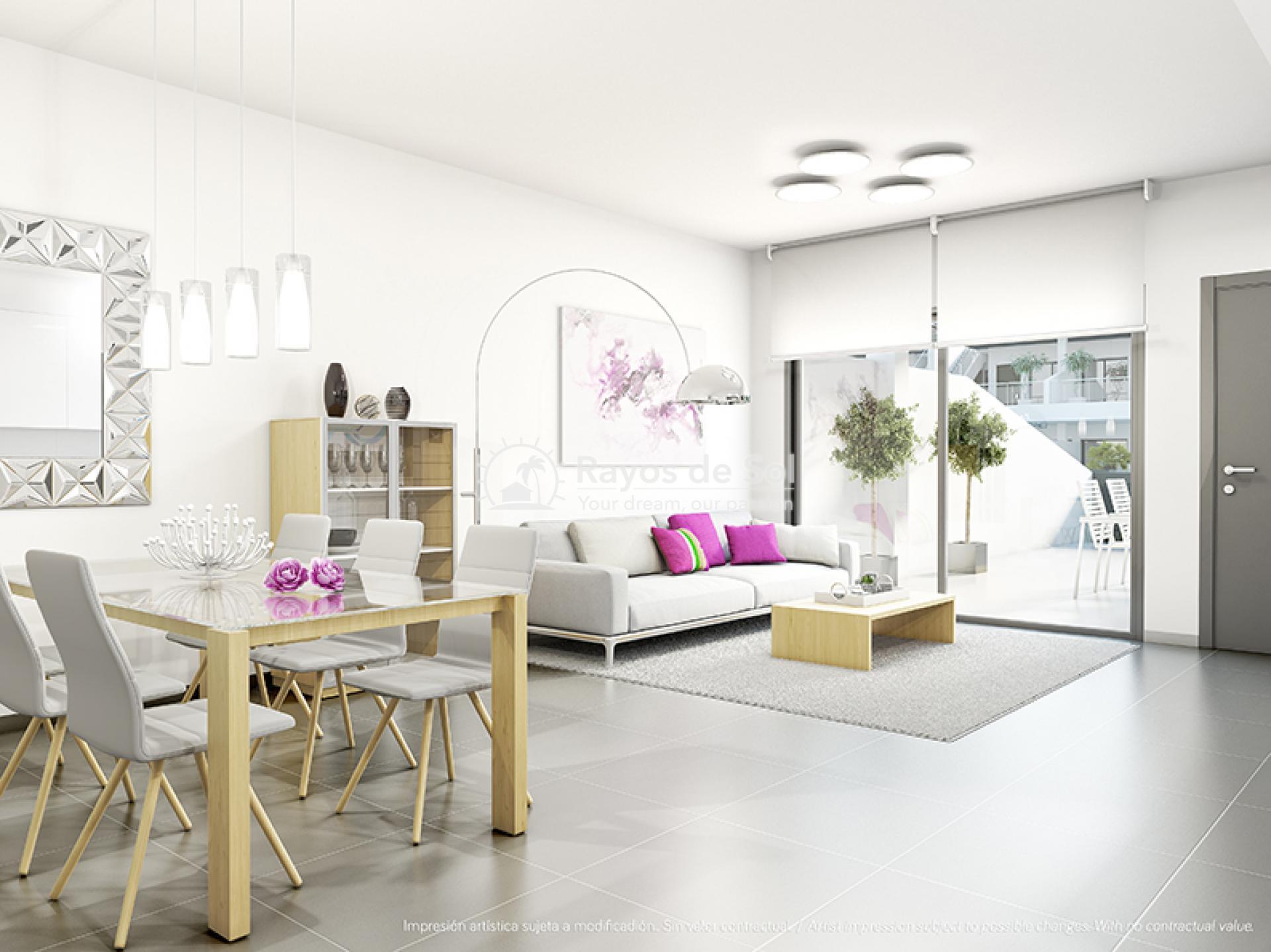 Modern ground floor apartments  in Villamartin, Costa Blanca (VIRPC3-2B) - 2