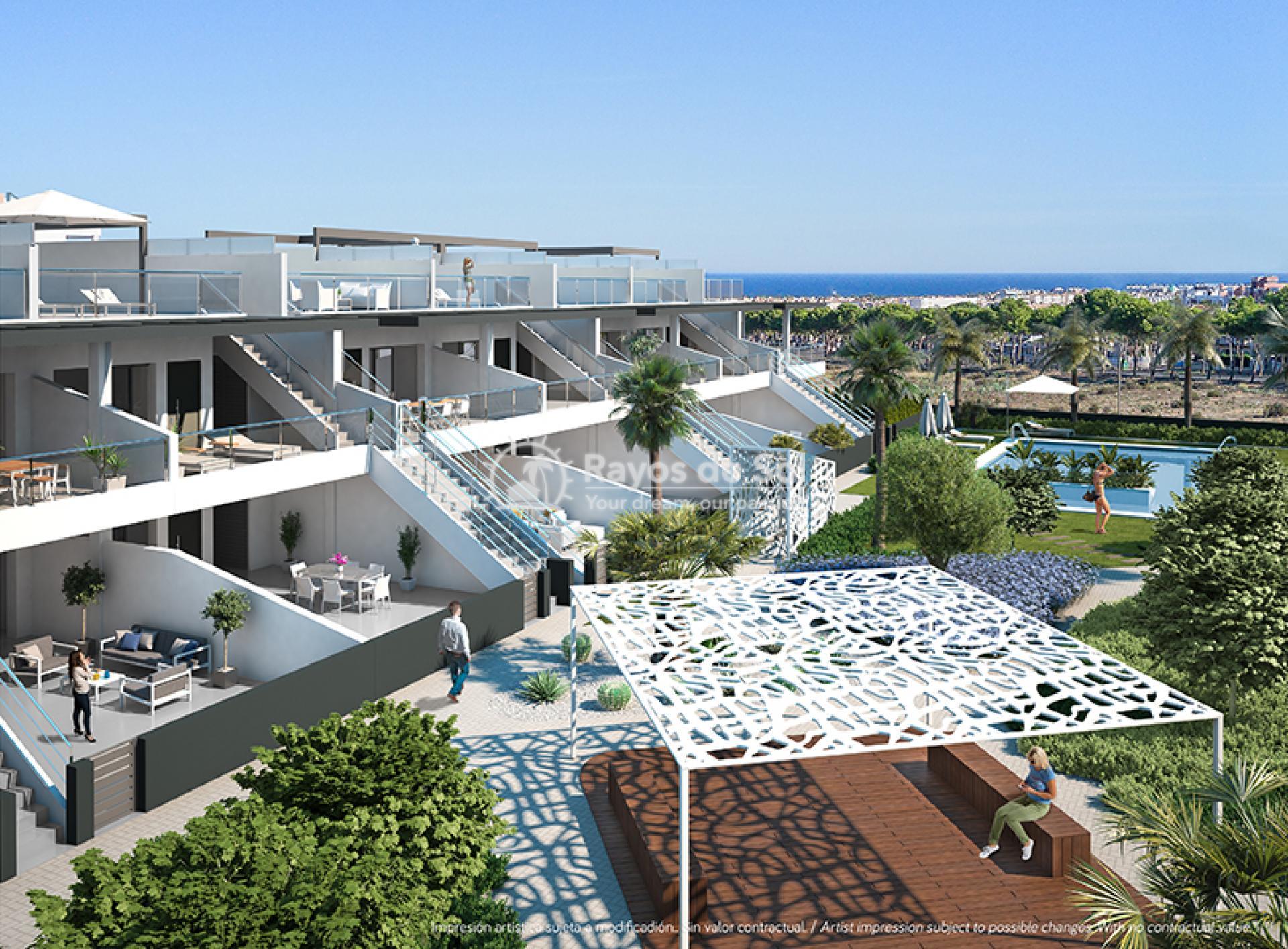 Modern ground floor apartments  in Villamartin, Costa Blanca (VIRPC3-2B) - 1