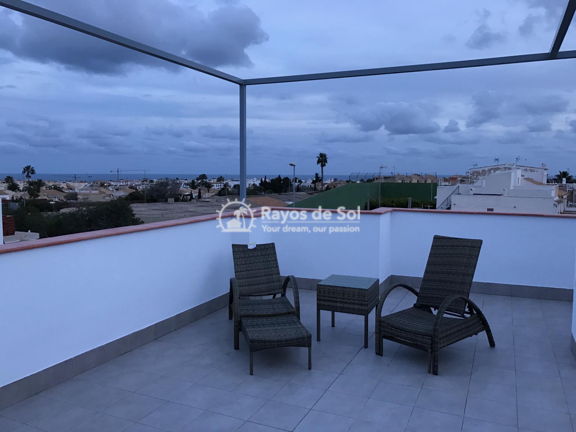 Semi-detached villa  in La Florida, Orihuela Costa, Costa Blanca (LFLOP3-3D) - 1