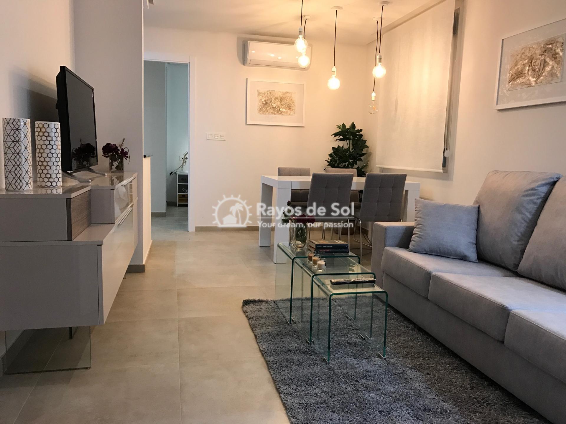 Semi-detached villa  in La Florida, Orihuela Costa, Costa Blanca (LFLOP3-3D) - 6