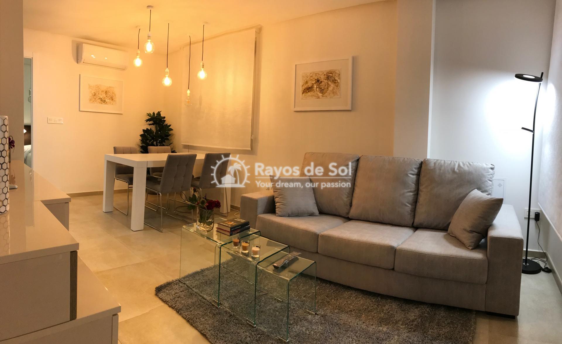Semi-detached villa  in La Florida, Orihuela Costa, Costa Blanca (LFLOP3-3D) - 5