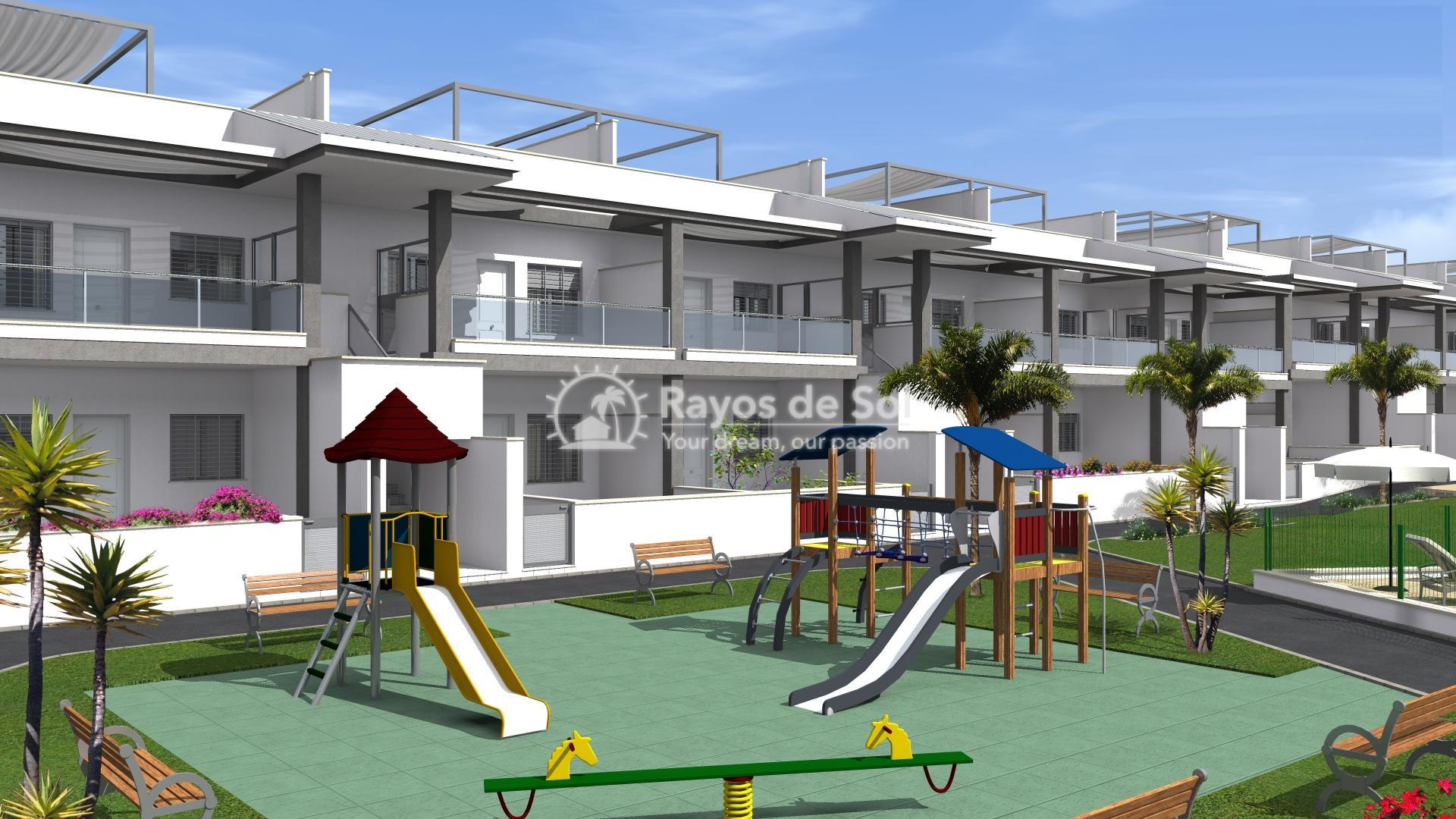 Semi-detached villa  in La Florida, Orihuela Costa, Costa Blanca (LFLOP3-3D) - 14