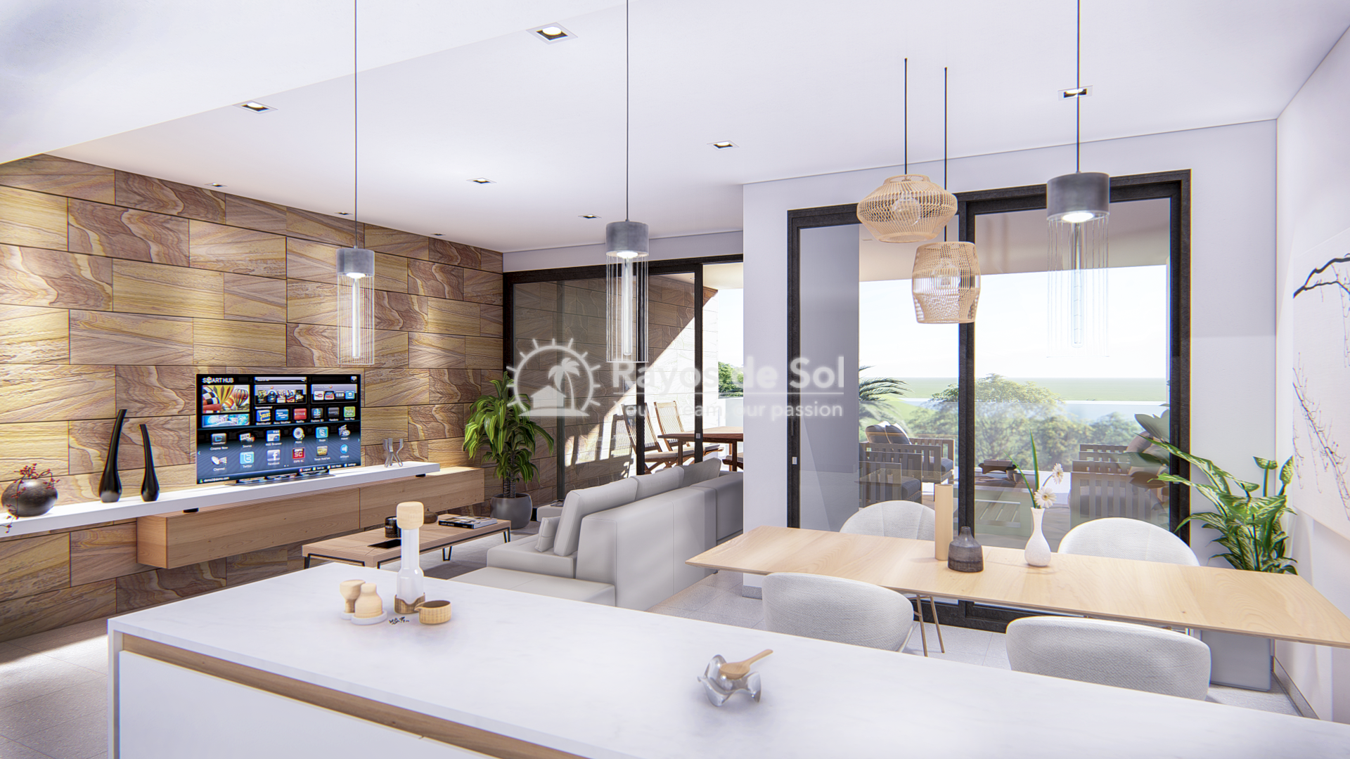 Modern apartments  in Villamartin, Orihuela Costa, Costa Blanca (villacostaclub-2d) - 6