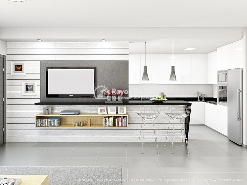 Modern penthouse  in Villamartin, Orihuela Costa, Costa Blanca (VIRPC3-2P) - 4