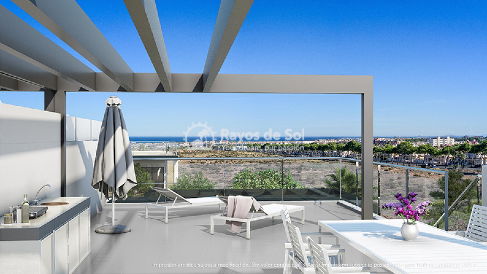 Modern penthouse  in Villamartin, Orihuela Costa, Costa Blanca (VIRPC3-2P) - 12
