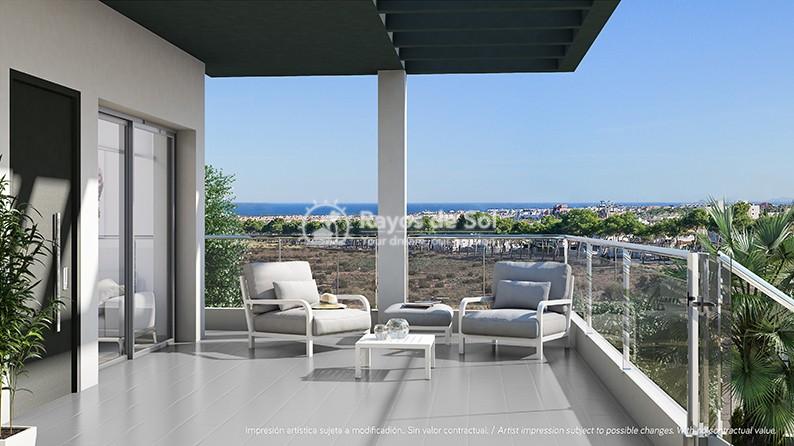 Modern penthouse  in Villamartin, Orihuela Costa, Costa Blanca (VIRPC3-2P) - 13